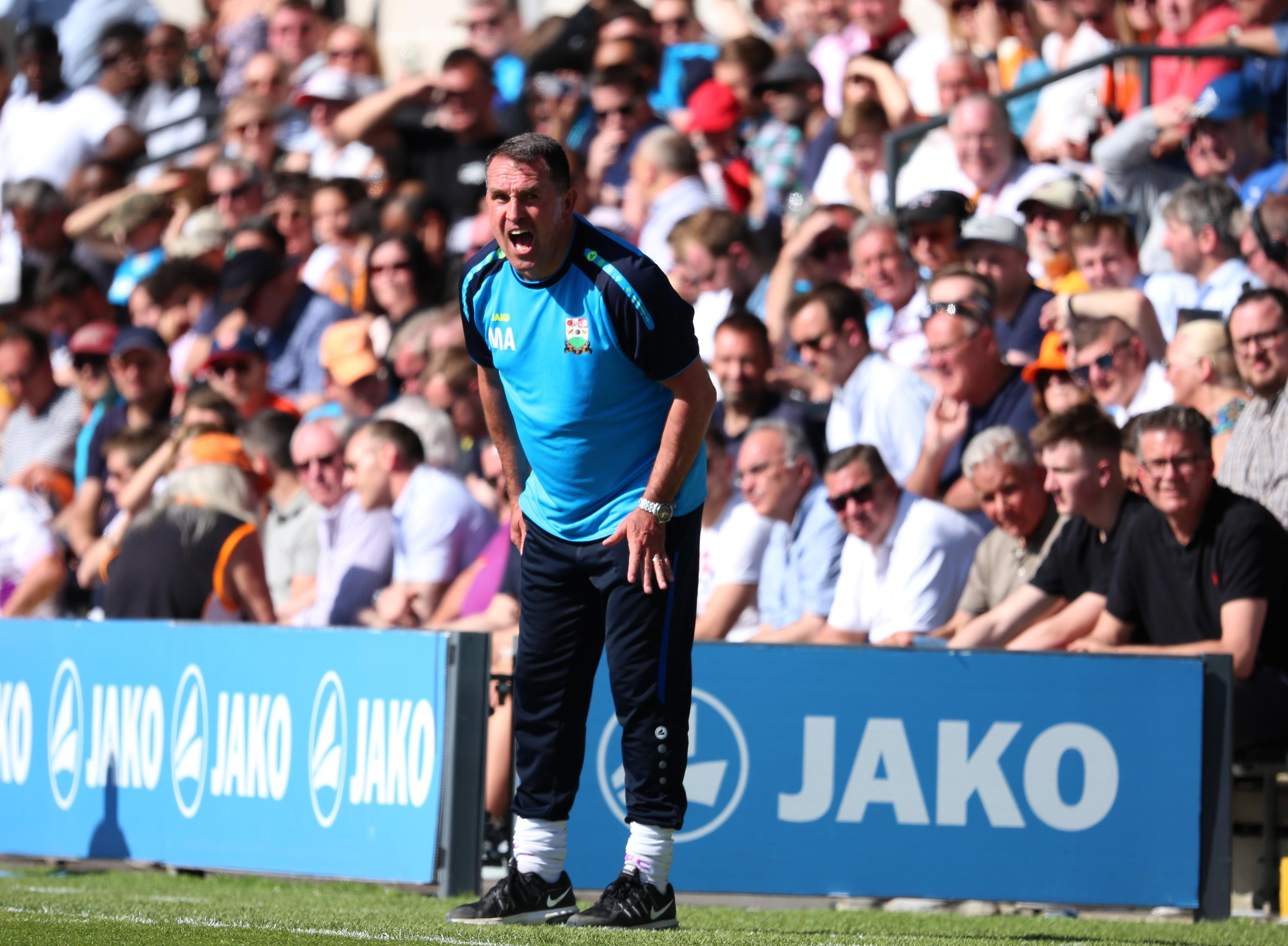 Martin Allen and the Chesterfield fans will be keeping everything crossed for a win, and a much-needed one at that