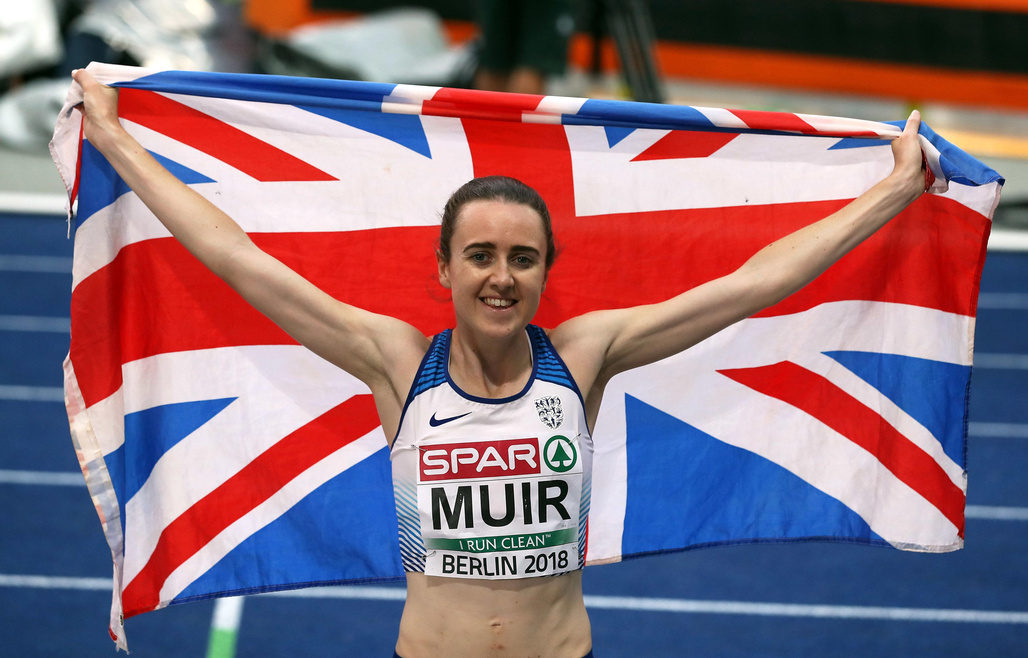 Scotland's Laura Muir won gold at the European championships earlier this year