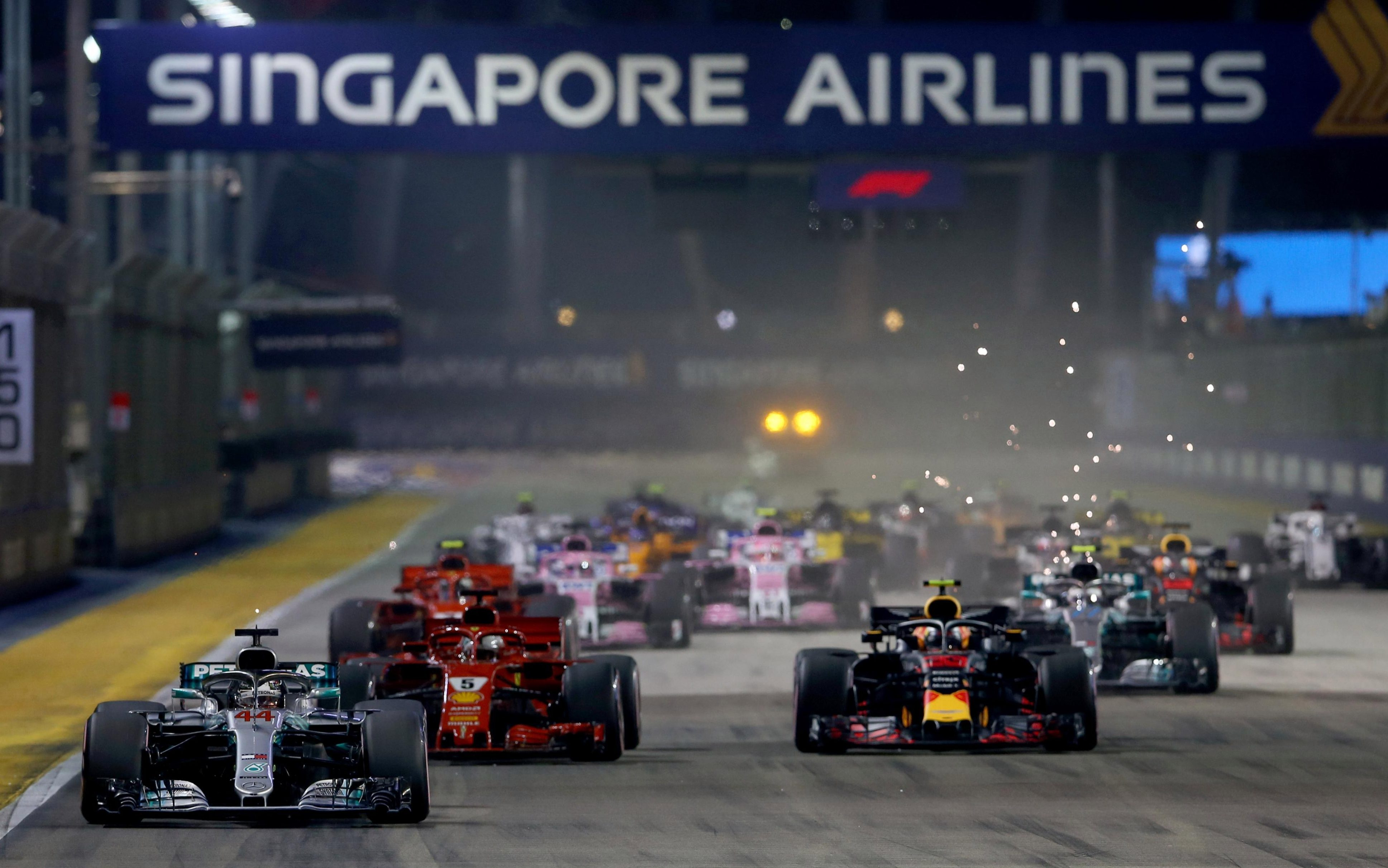 Only Singapore and Malaysia have hosted F1 events before Vietnam