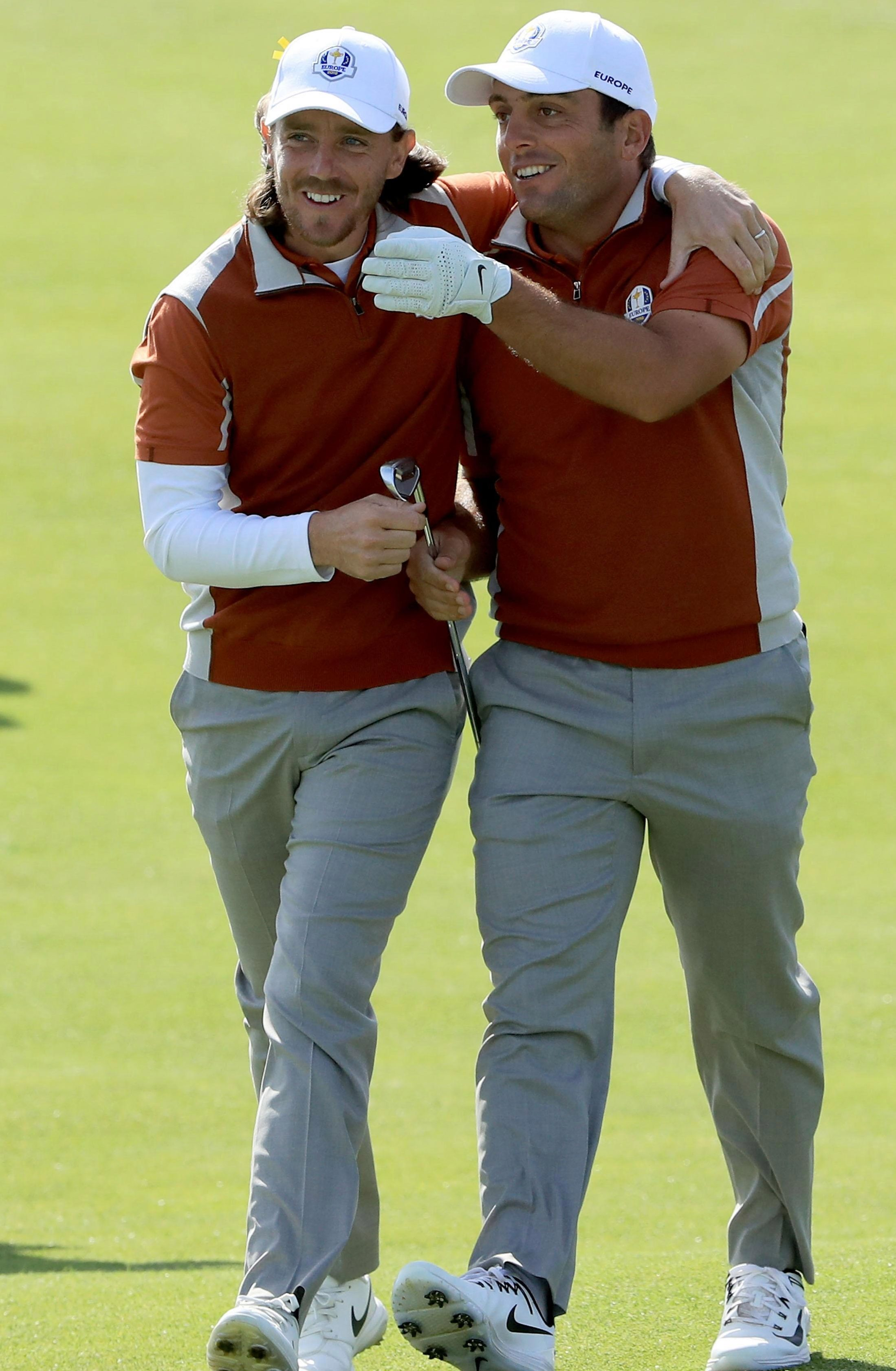 Francesco Molinari and Tommy Fleetwood have the type of understanding that could make them big pulls for PPV
