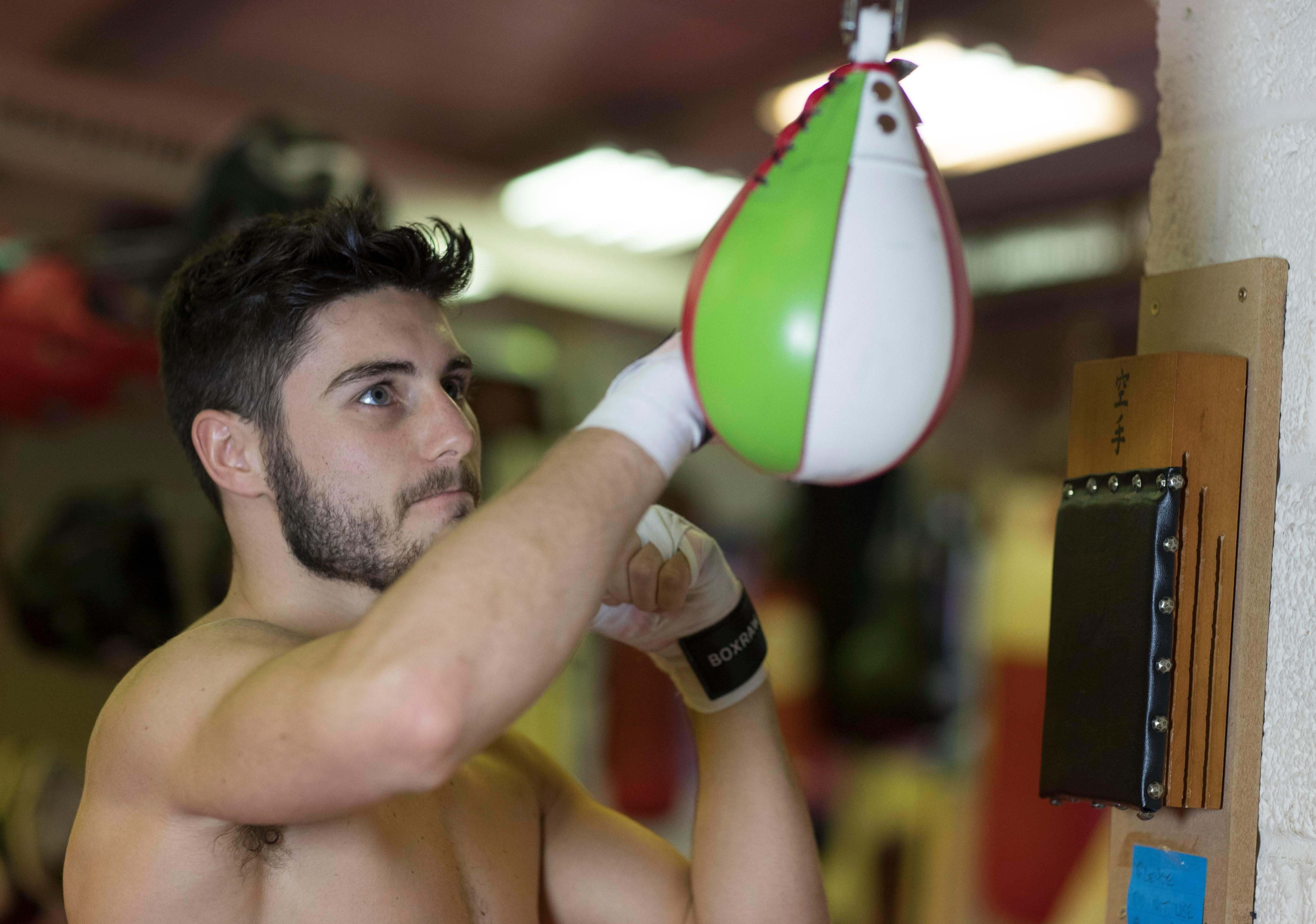 With a young son to feed, Josh Kelly is hungrier than ever to succeed