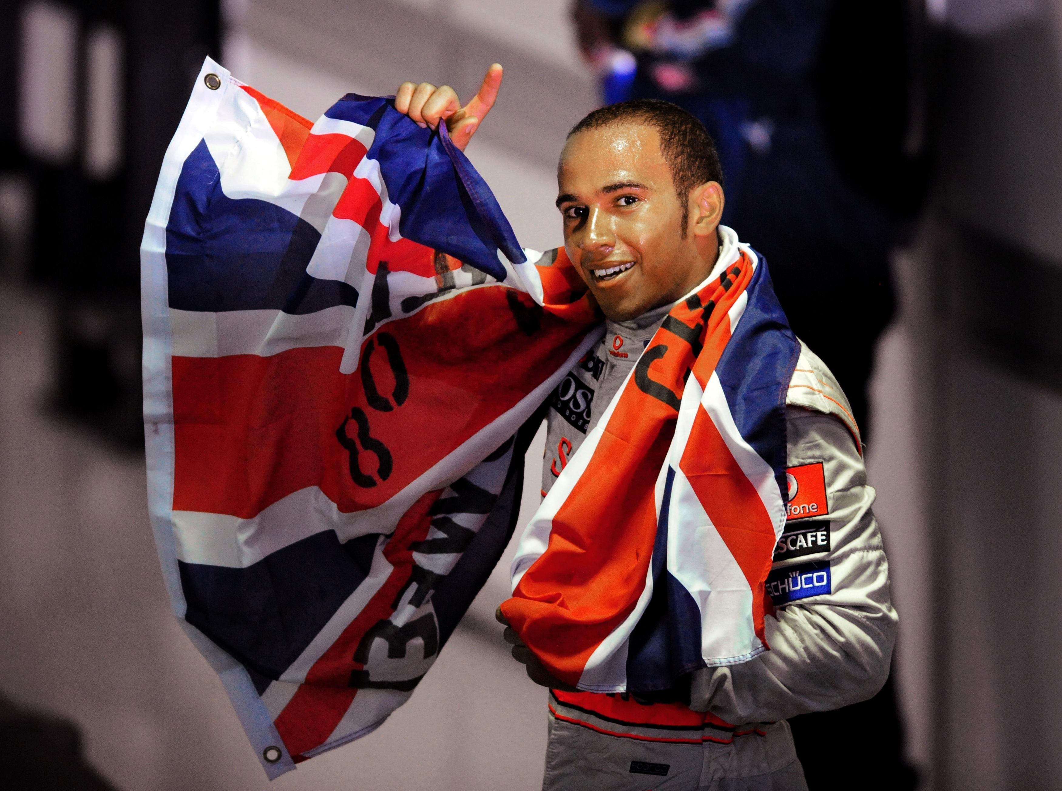 Hamilton won his fourth world championship at the Brazilian Grand Prix last November