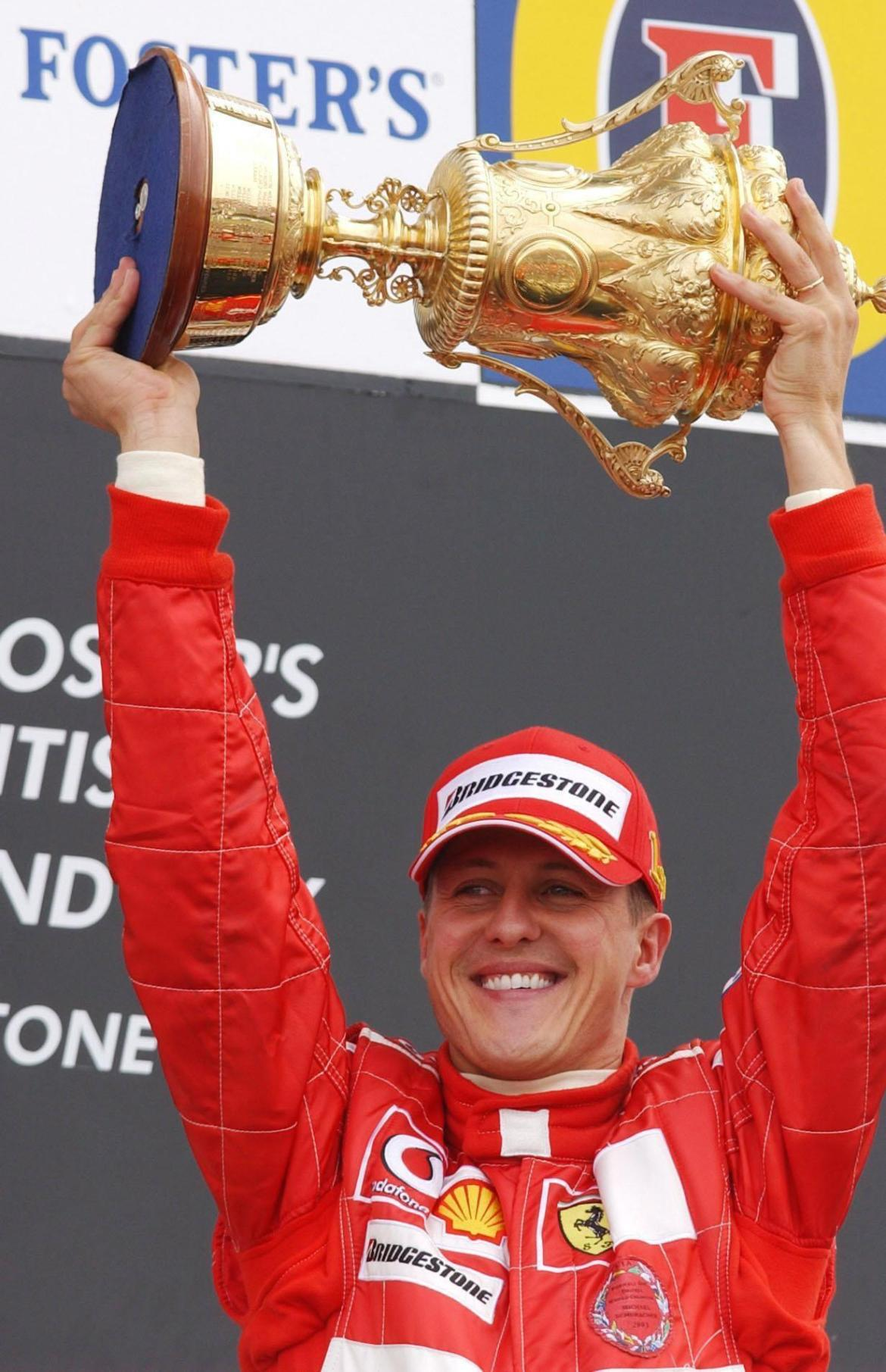 Michael Schumacher had a focused public persona - but he was much more relaxed behind closed doors