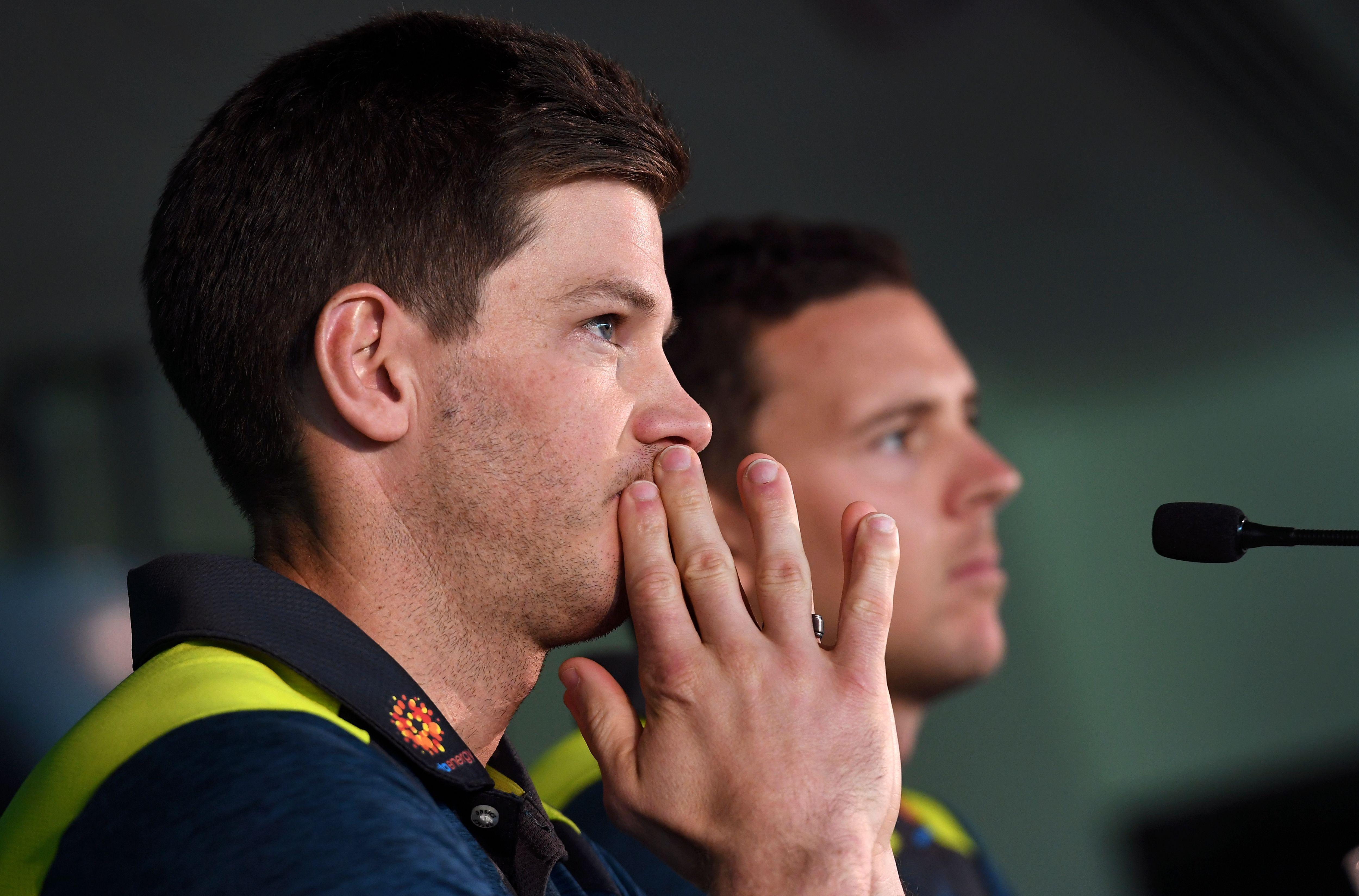 Tim Paine was handed a nine-month suspension