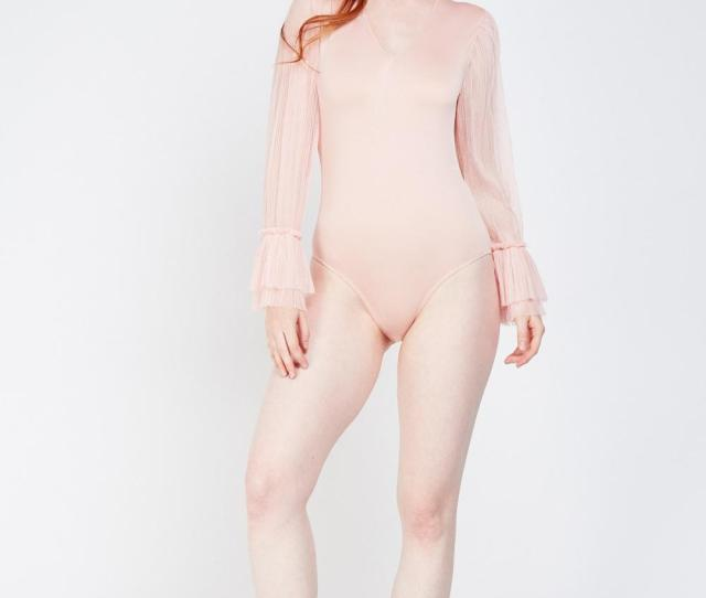 People Are Baffled By This Pink  Bodysuit Which Makes The
