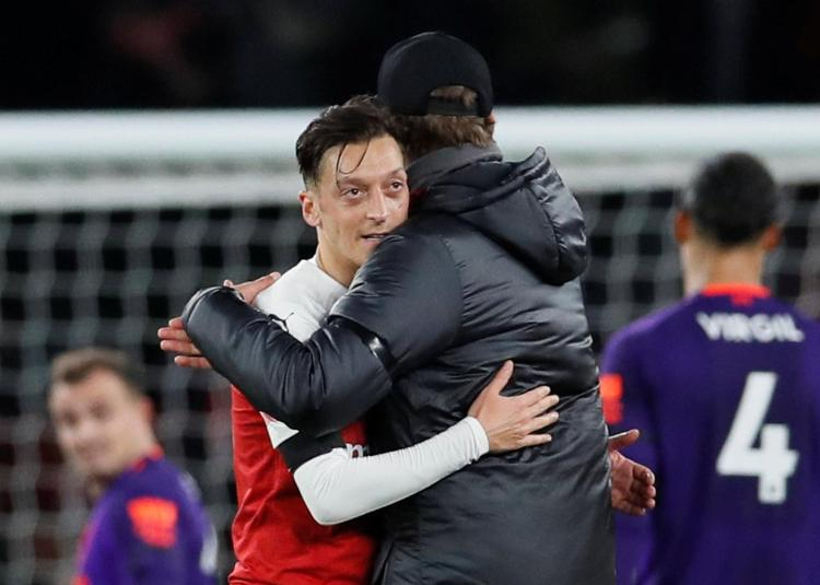 Mesut Ozil has revealed he may spend the rest of his career at Arsenal