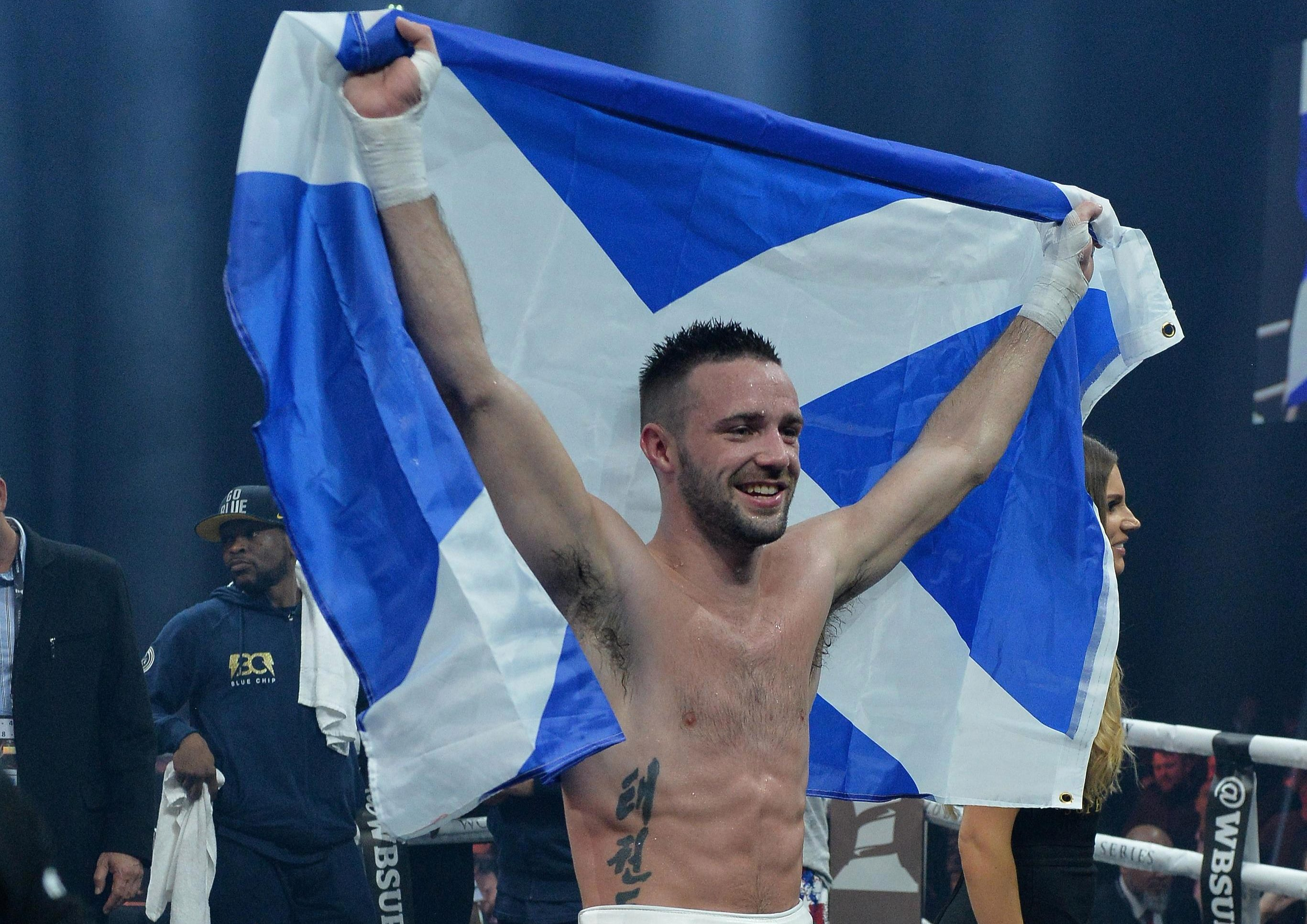 Josh Taylor is in line for a world title shot