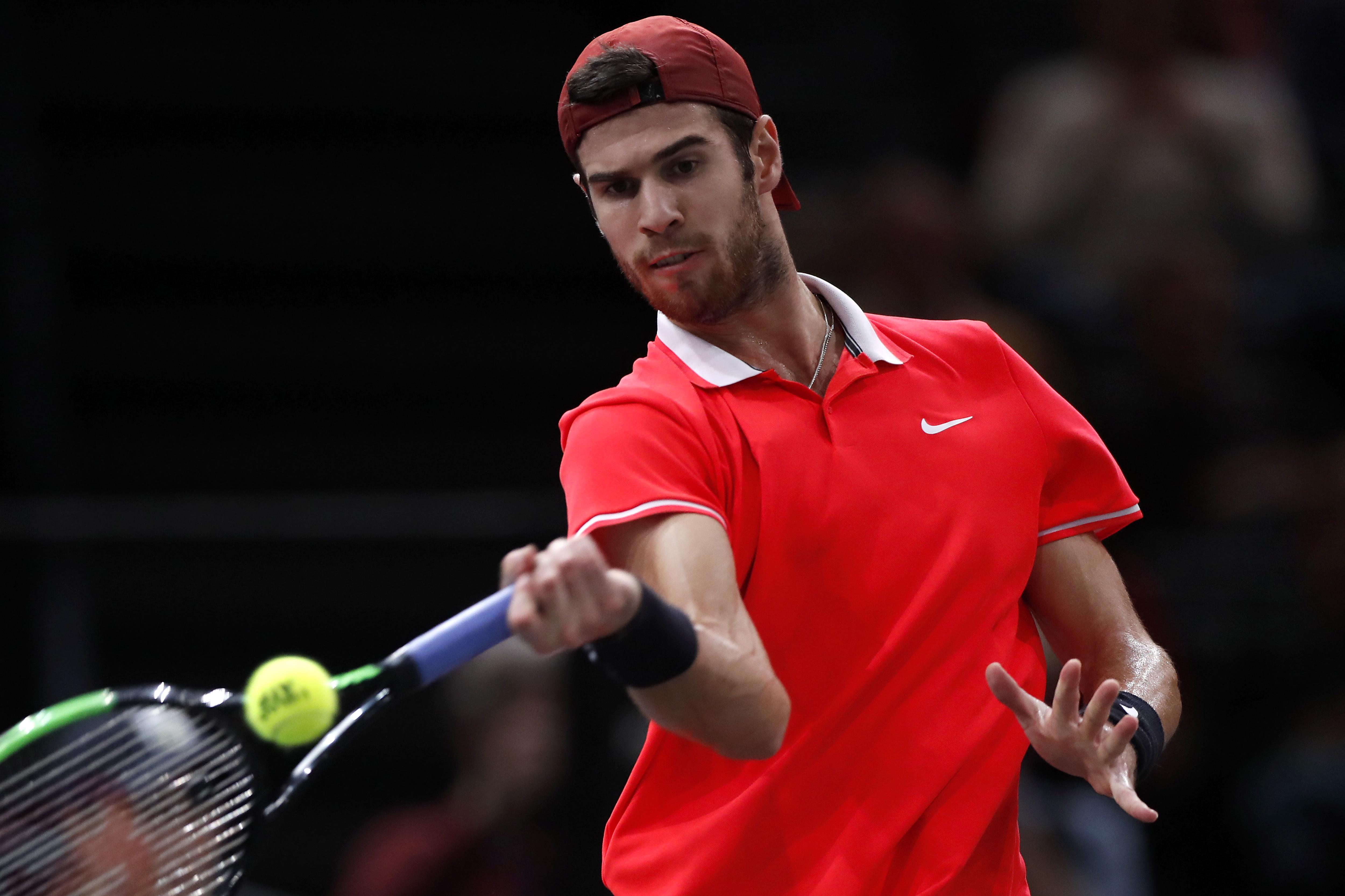 Khachanov is the first Russian to win a Masters title since the controversial Nikolay Davydenko