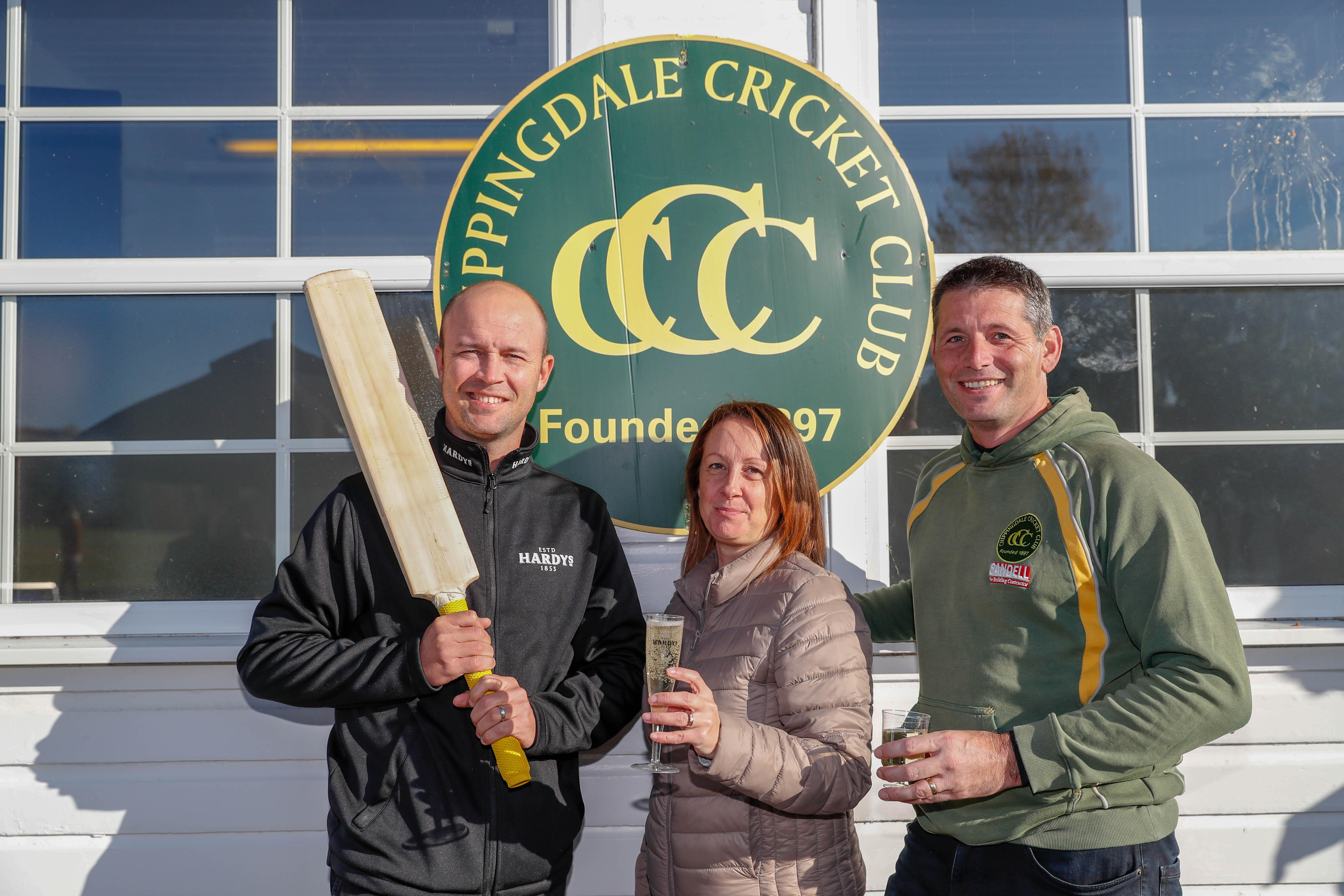 Jonathan Trott was speaking while celebrating Matt and Julie Bourne being crowned Hardys Heartbeat of the Club 2018