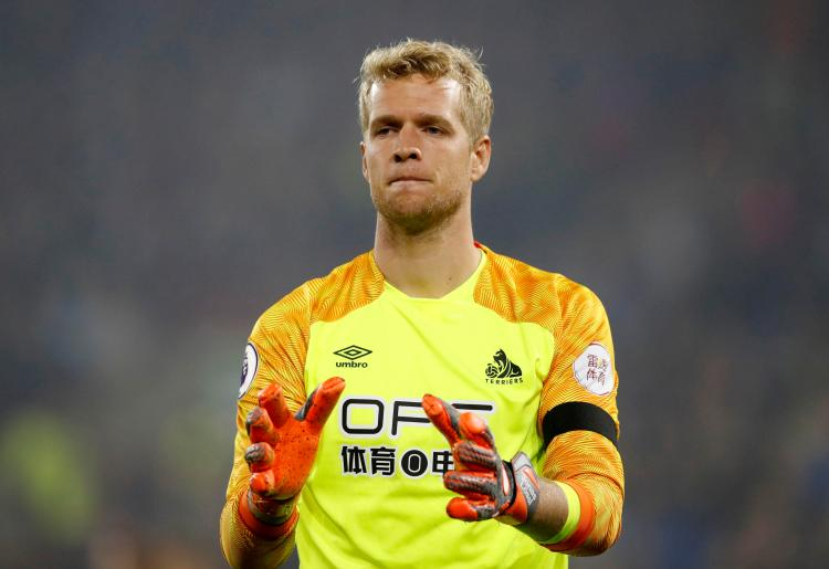 Huddersfield are looking to replace Jonas Lossl as first choice keeper