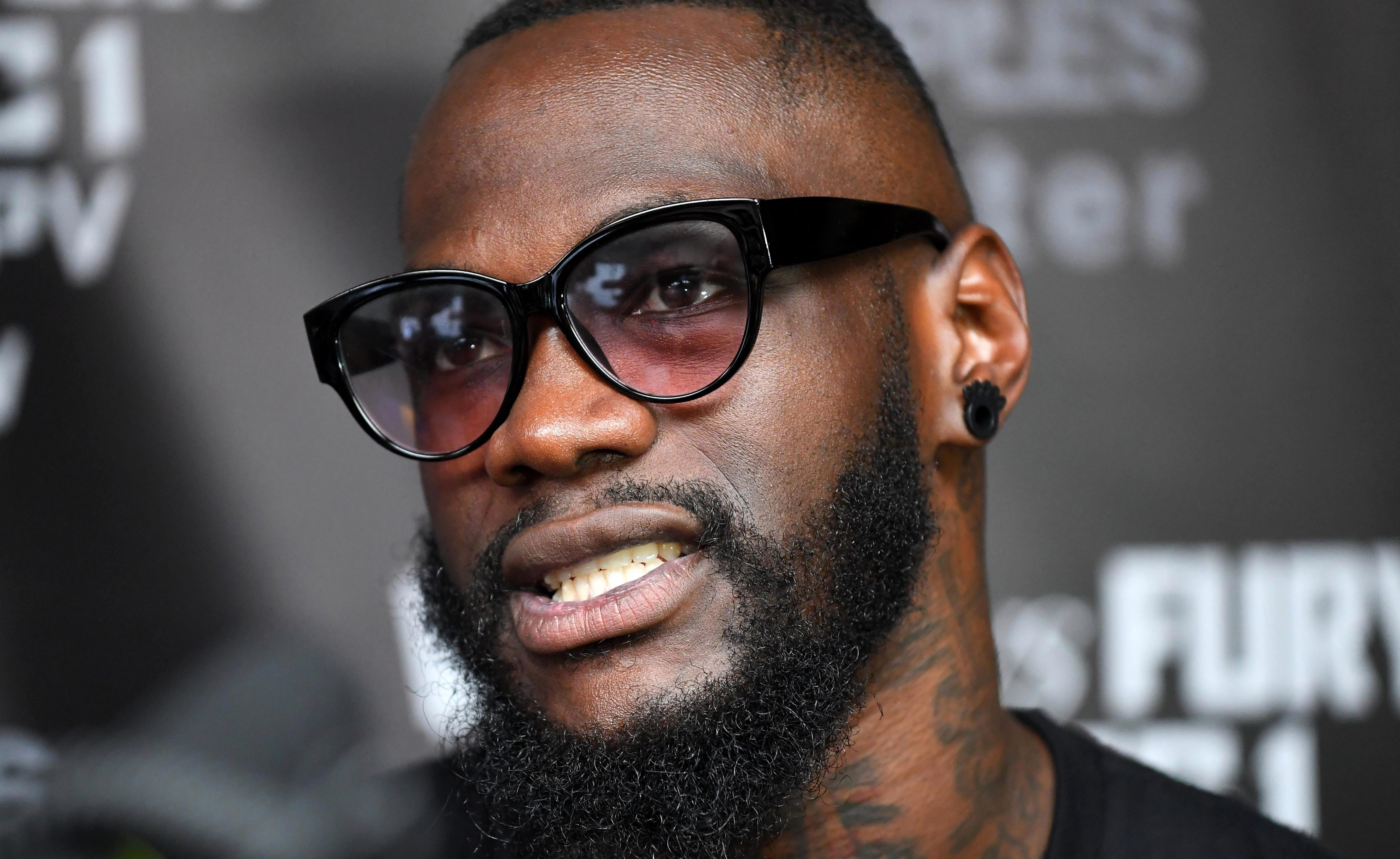 Deontay Wilder has once again taken a swipe at heavyweight rival Anthony Joshua