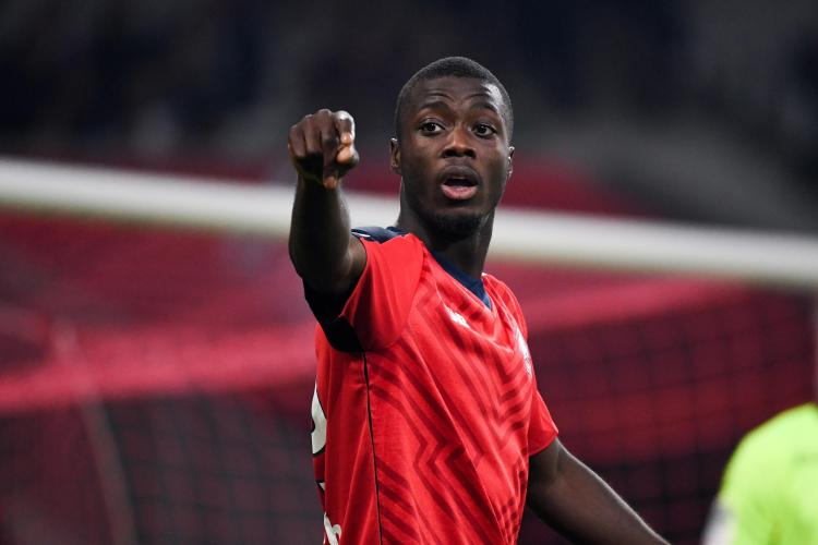 Nicolas Pepe could be on the way out of Lille to join Arsenal