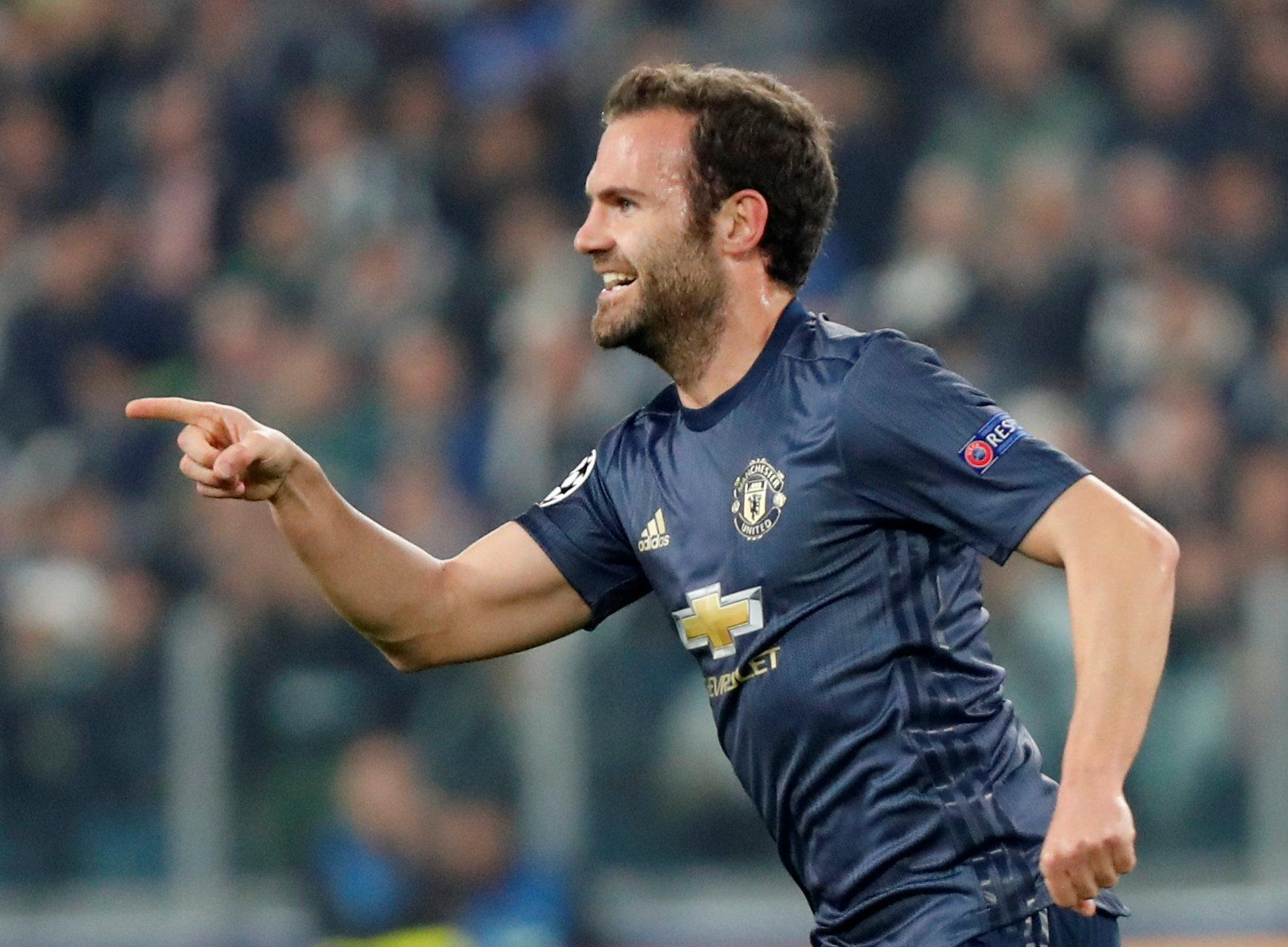 Juan Mata proved the perfect substitution as he scored a brilliant free-kick