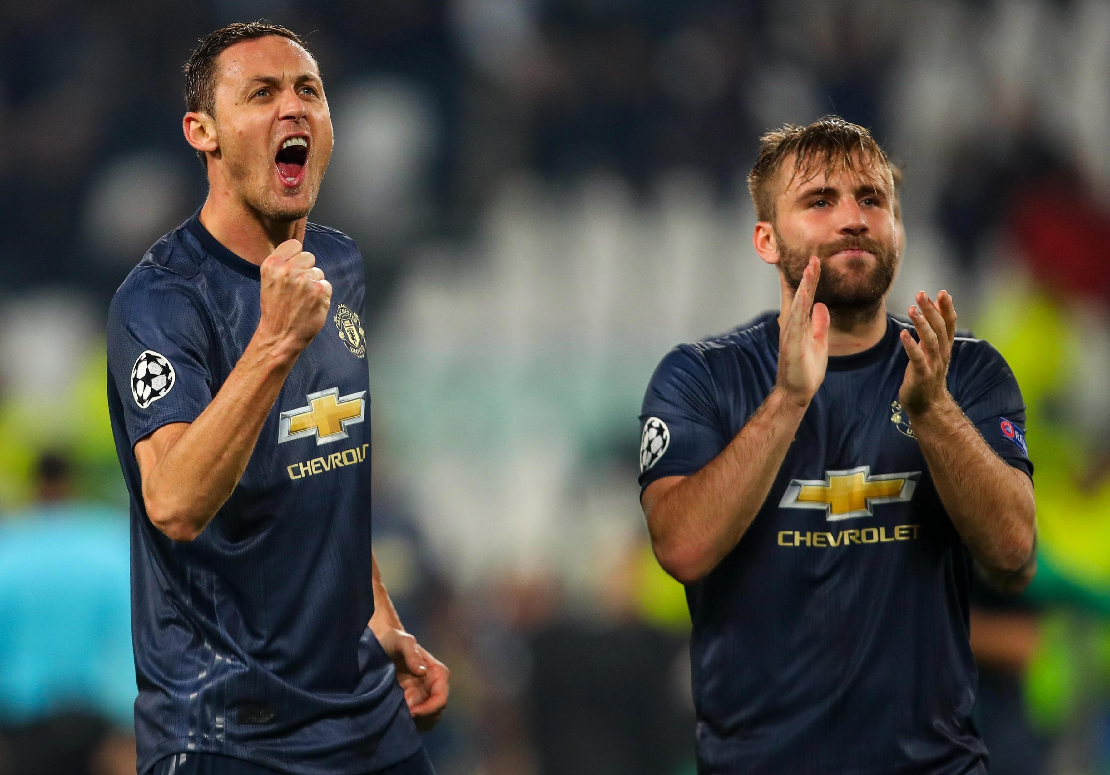 Manchester United's players should be very proud of their fighting spirit after beating Juve in their own home