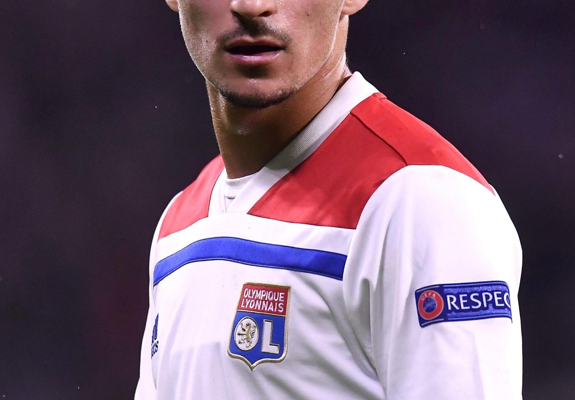 Lyon midfielder Houssem Aouar is a major target for Maurizio Sarri at Chelsea