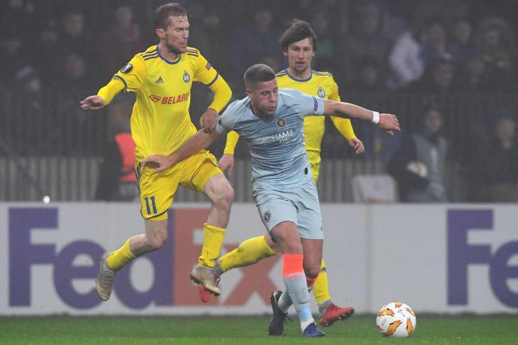 Ross Barkley failed to make an impact in the game against BATE Borisov