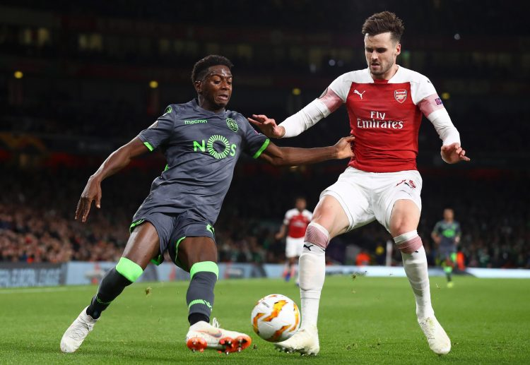 Carl Jenkinson looked poor as he filled in at left-back