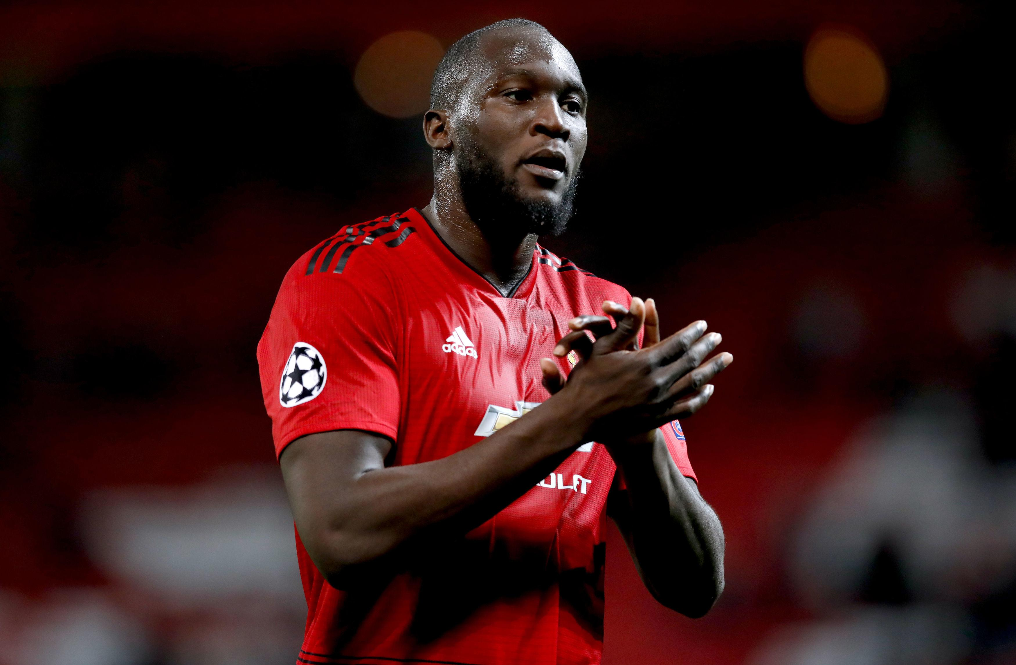Romelu Lukaku could be back in action for the Red Devils
