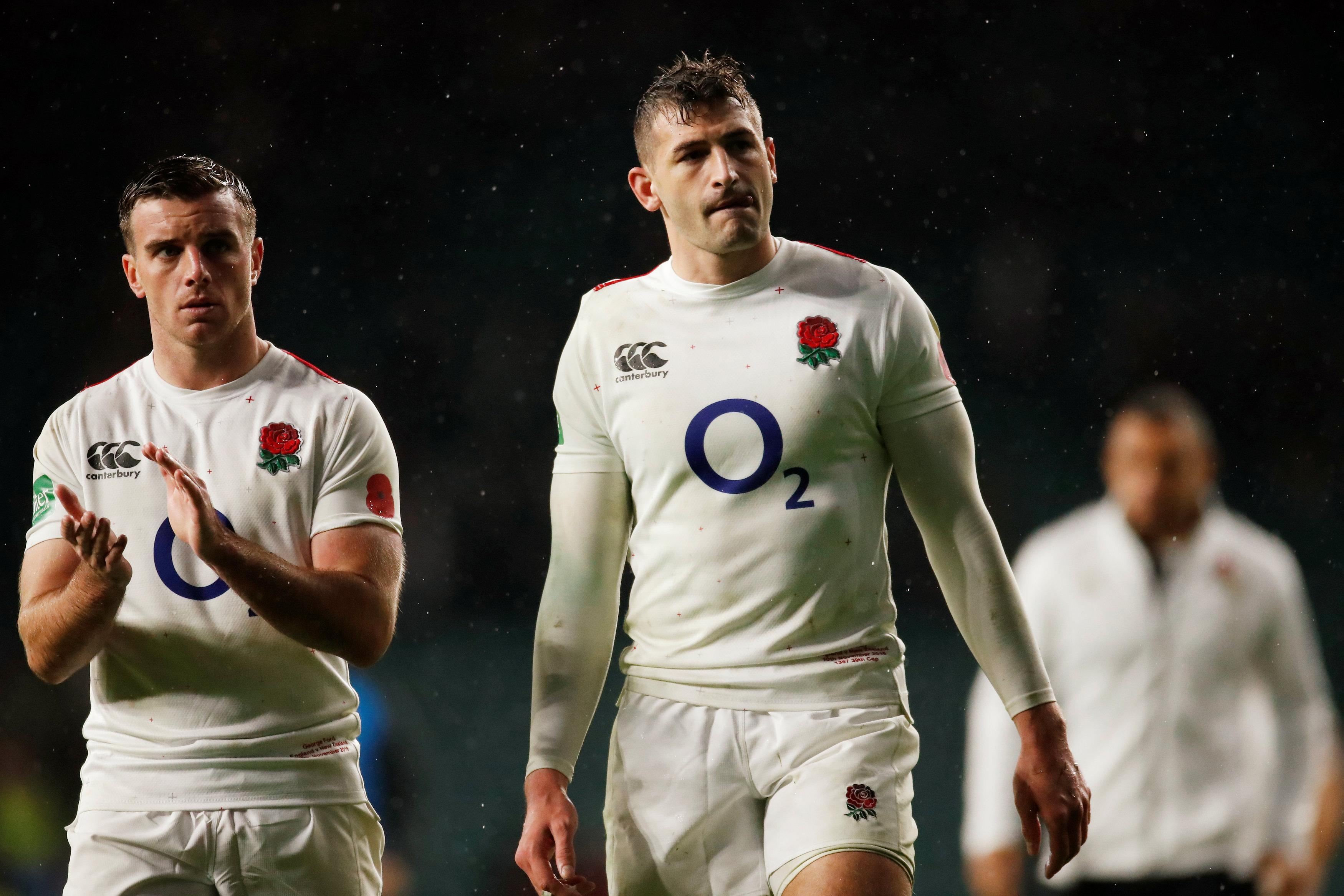 Ford was dejected after the loss to All Blacks