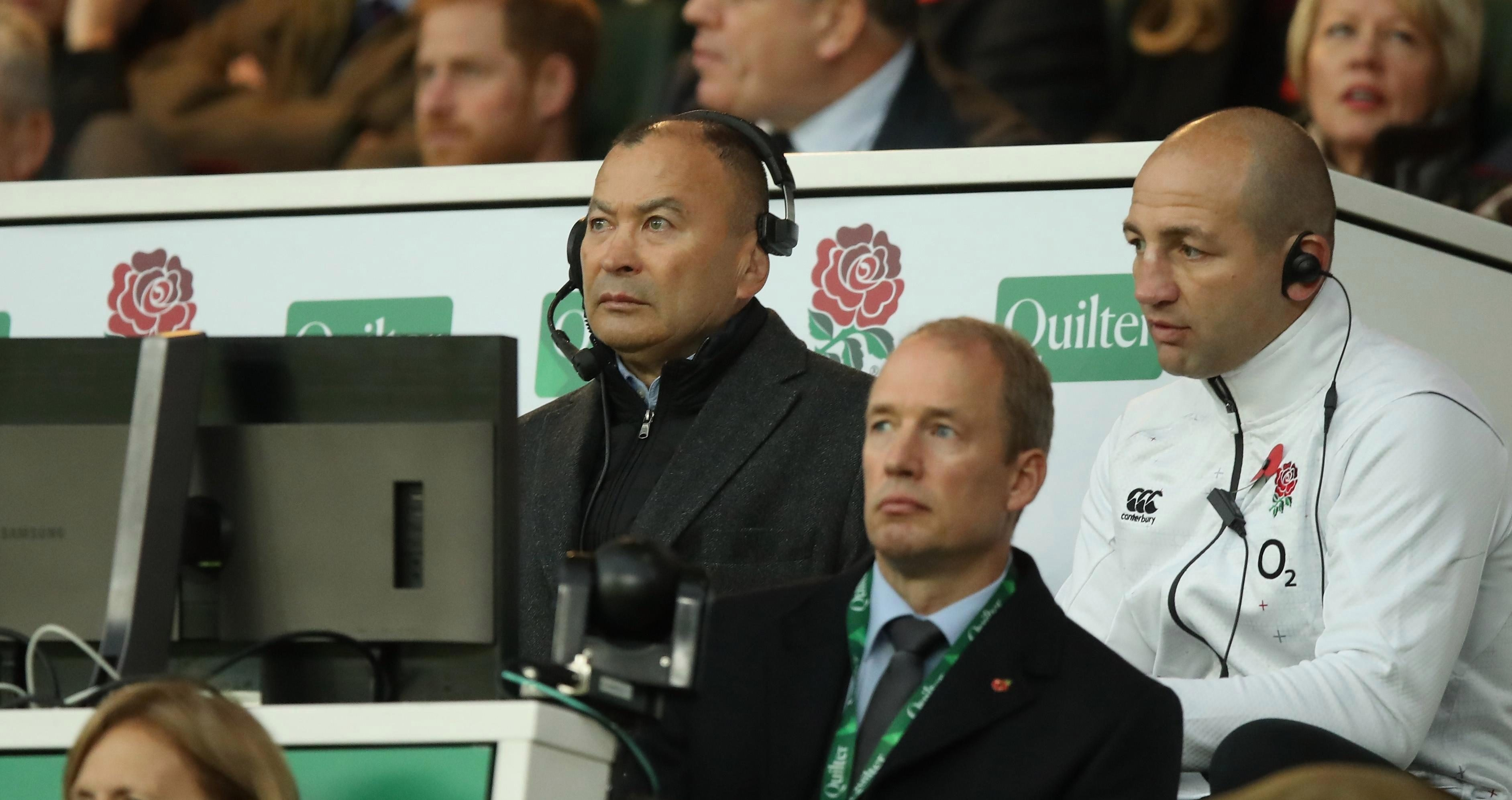 Woodward blasted Eddie Jones for giving his players too much control