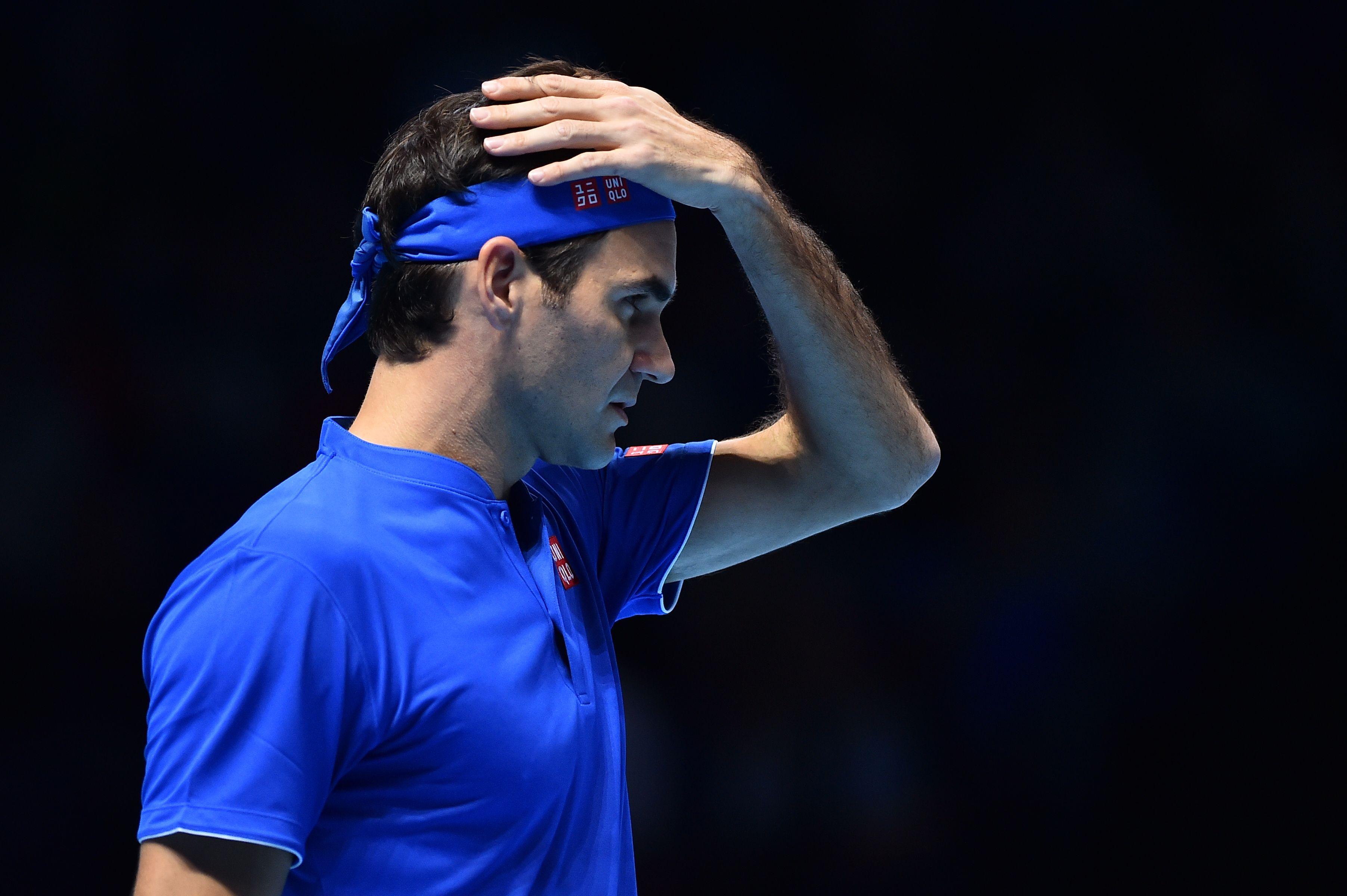 Federer lost to Kei Nishikori on Sunday
