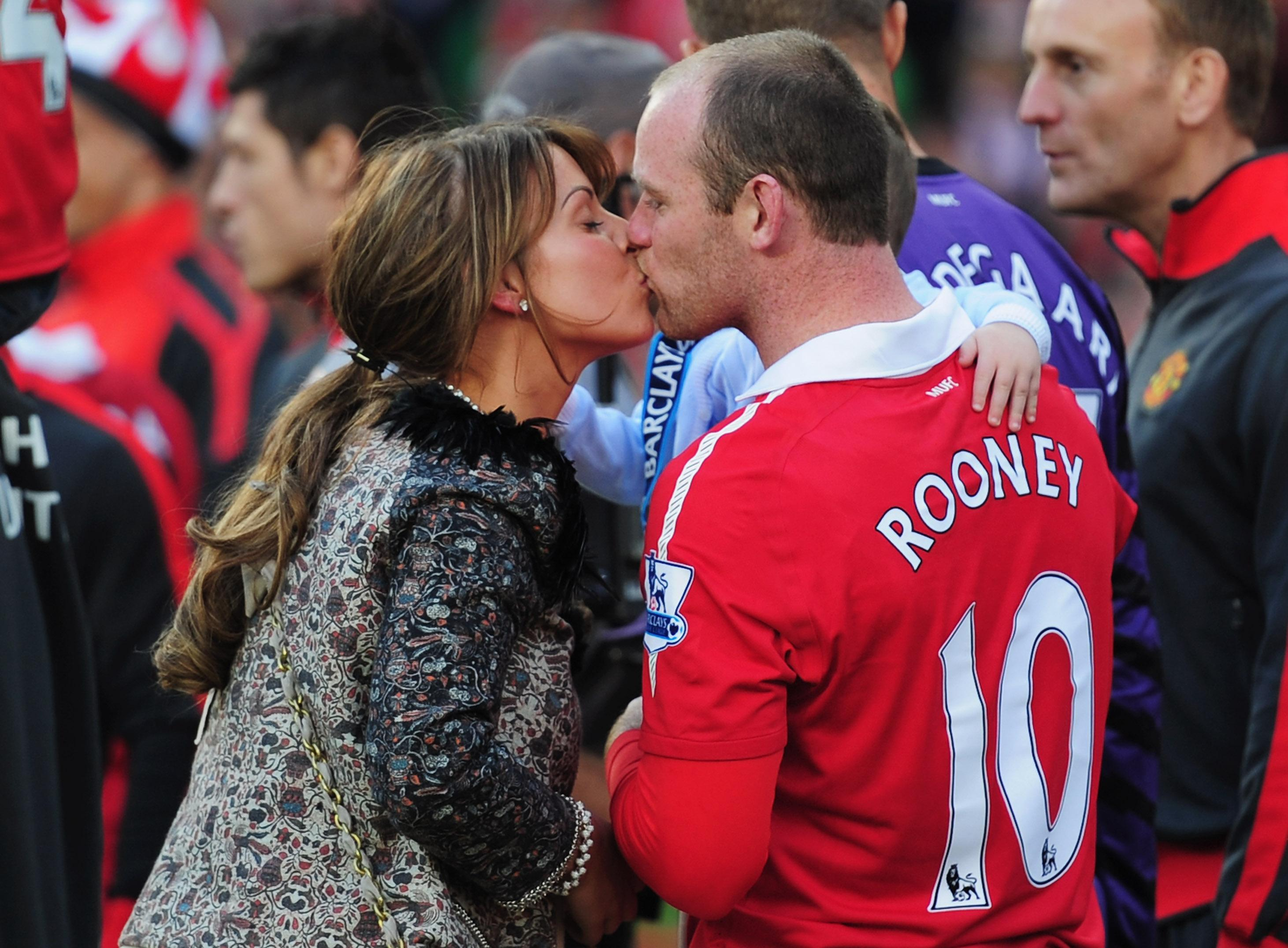 Coleen and Rooney left England and Manchester for DC United