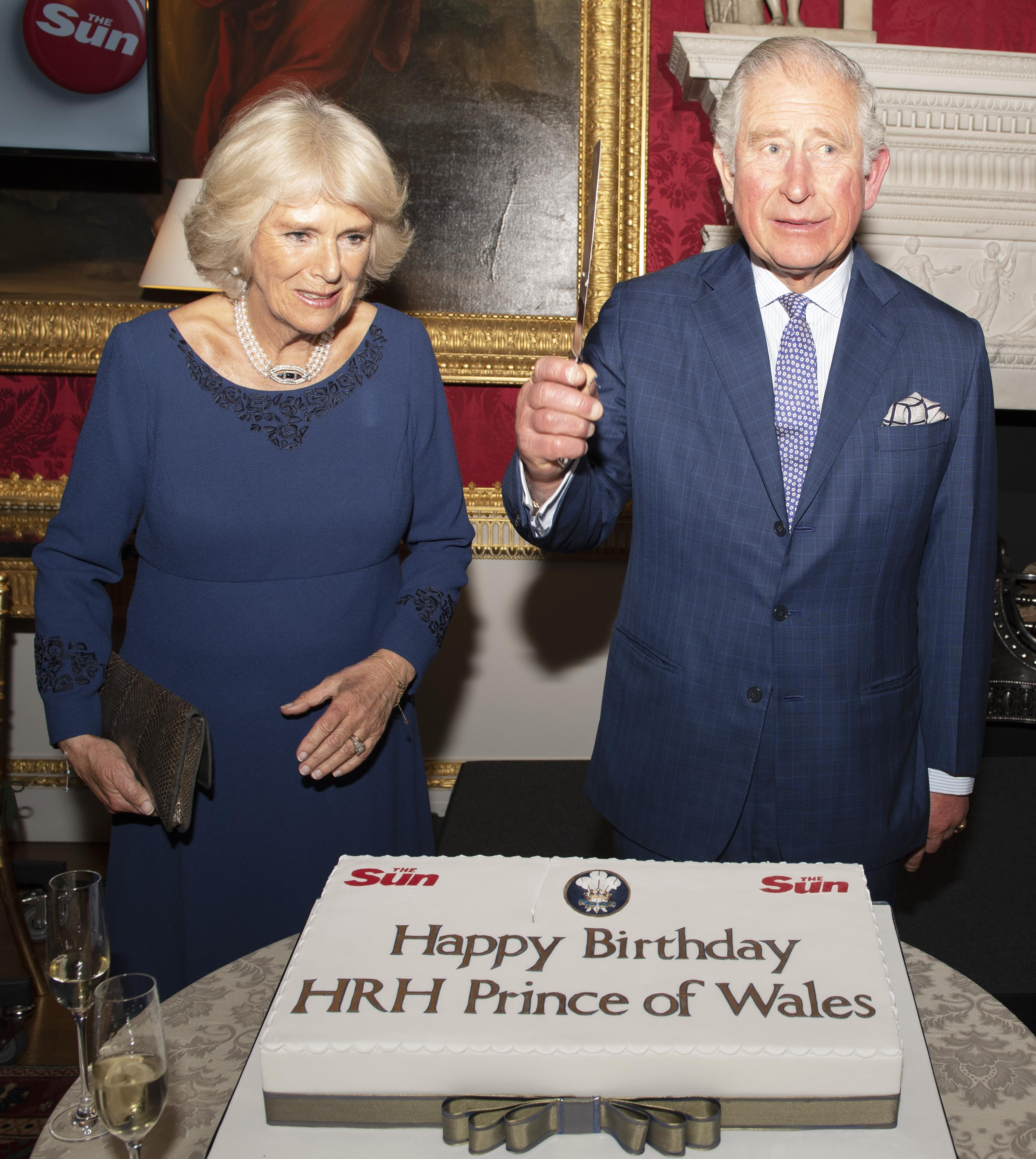 Prince Charles And Camilla Celebrate His 70th Birthday With The Sun S Remarkable Readers And He Thanks Them For Making It More Special