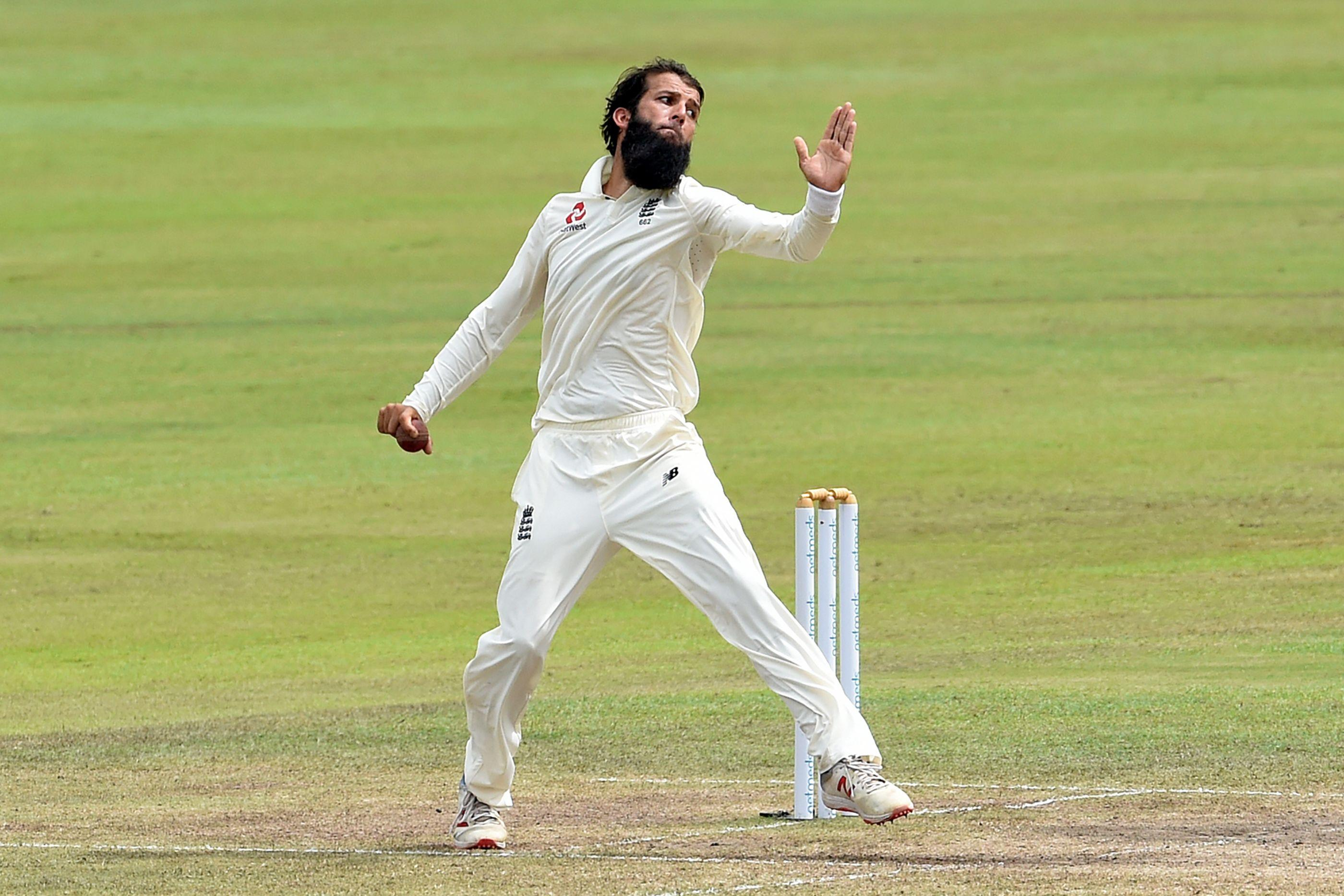 Moeen Ali took two wickets on day five to send England on their way