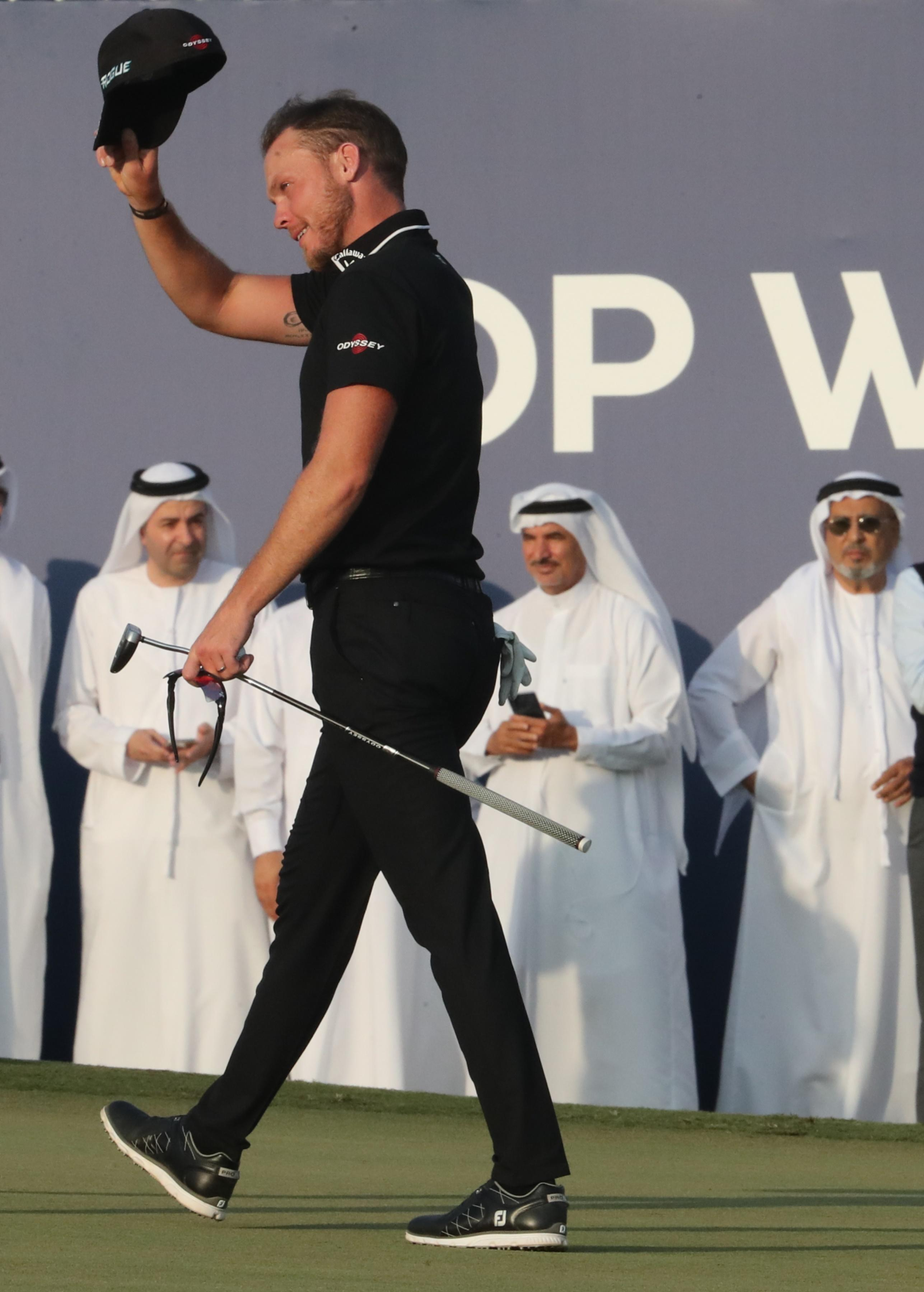 He has pocketed just over £1m for winning in Dubai
