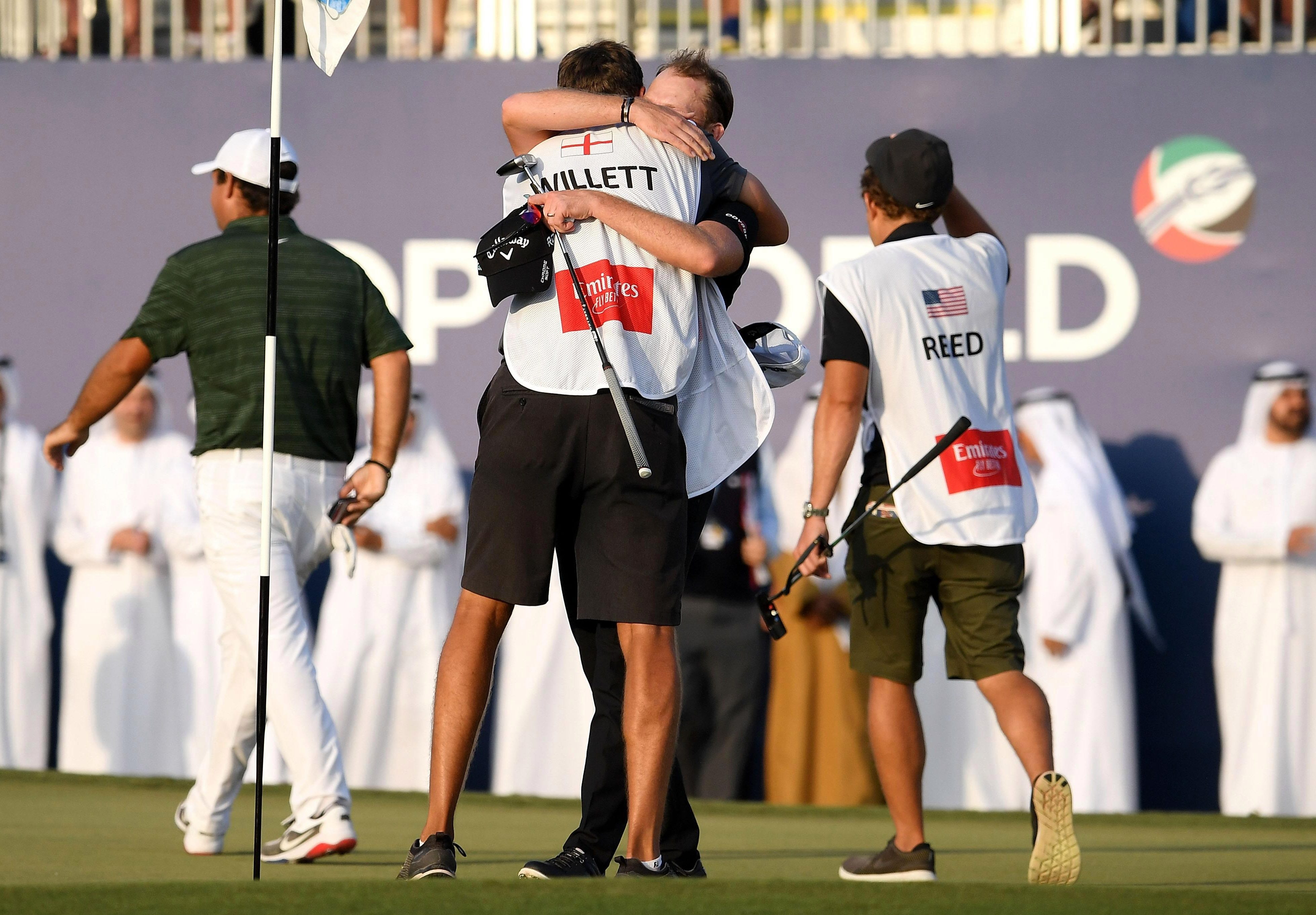 He held off Patrick Reed andMatt Wallace to win by two shots in Dubai