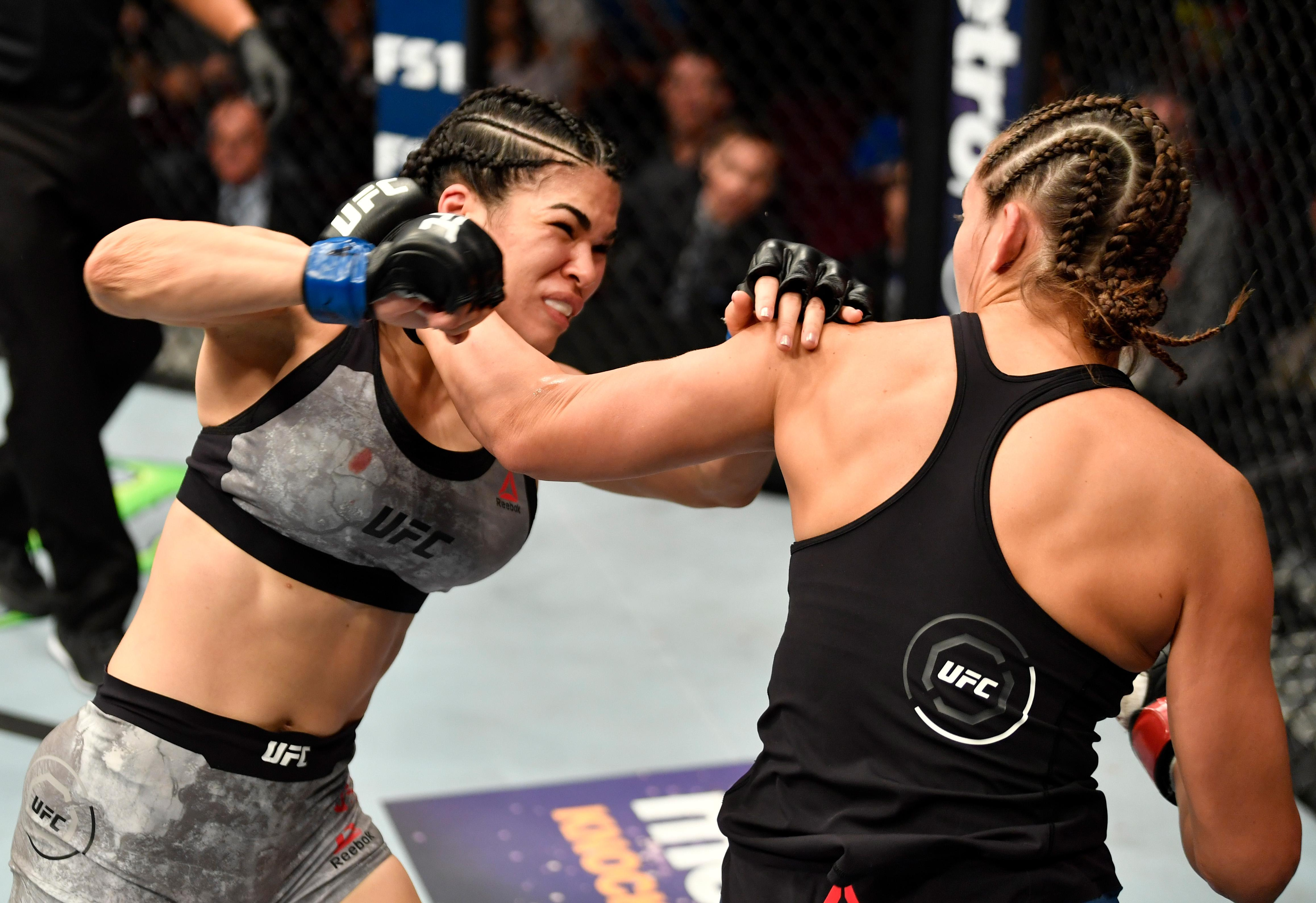Rachael Ostovich has a record of 1-1 in the UFC