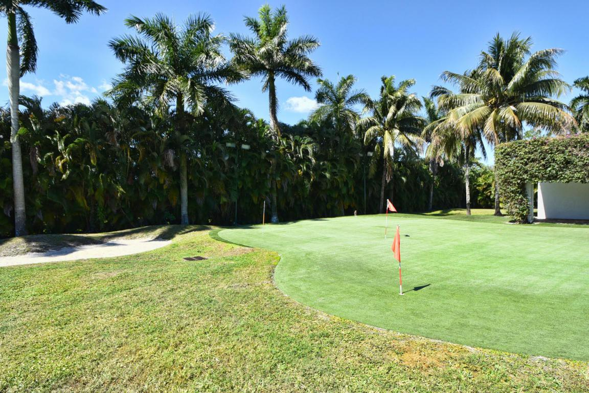The Boca Raton mansion also has a putting green