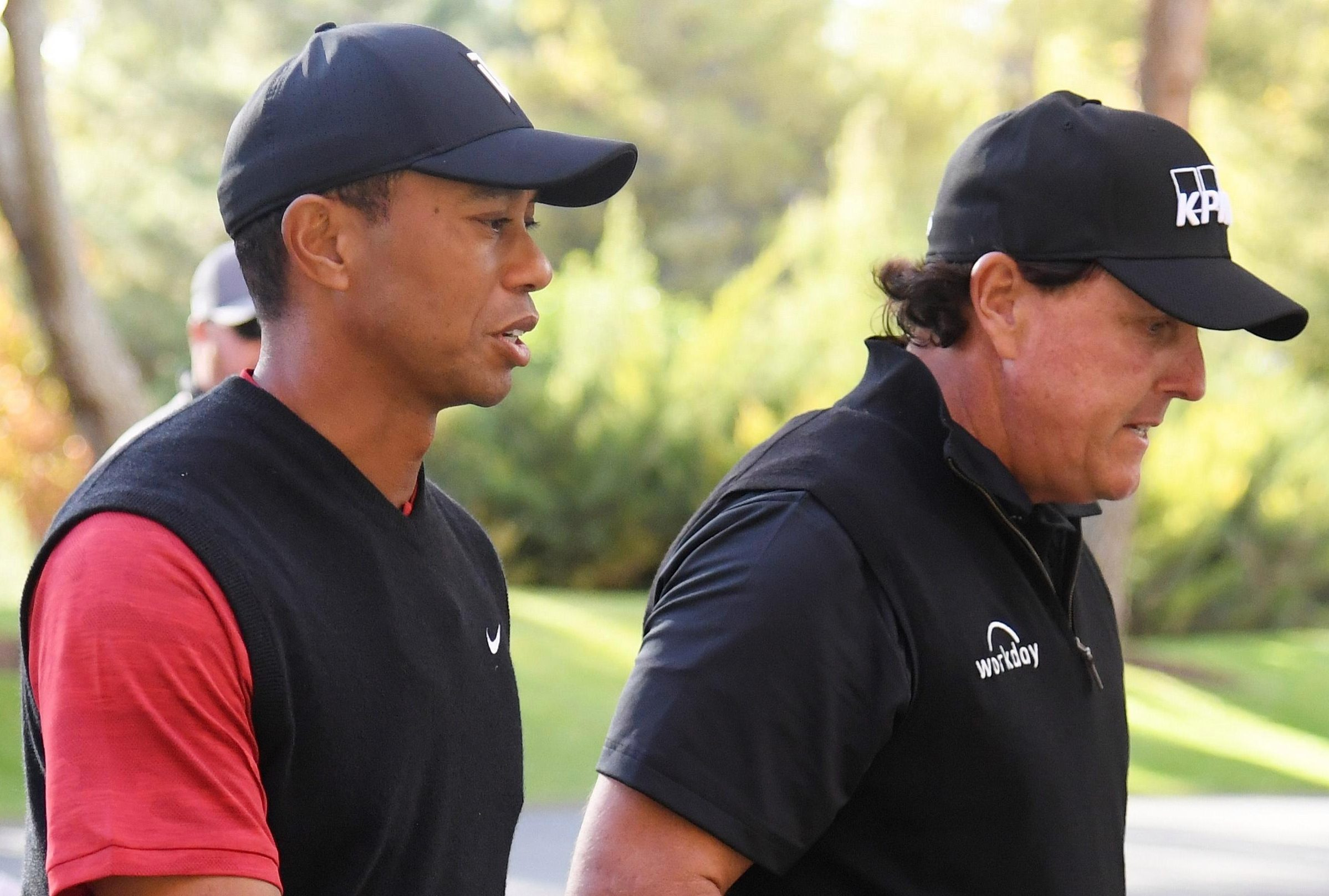 Ryder Cup losers Tiger Woods and Phil Mickelson may get a chance of some sort of revenge by taking on top Euro duo Francesco Molinari and Tommy Fleetwood