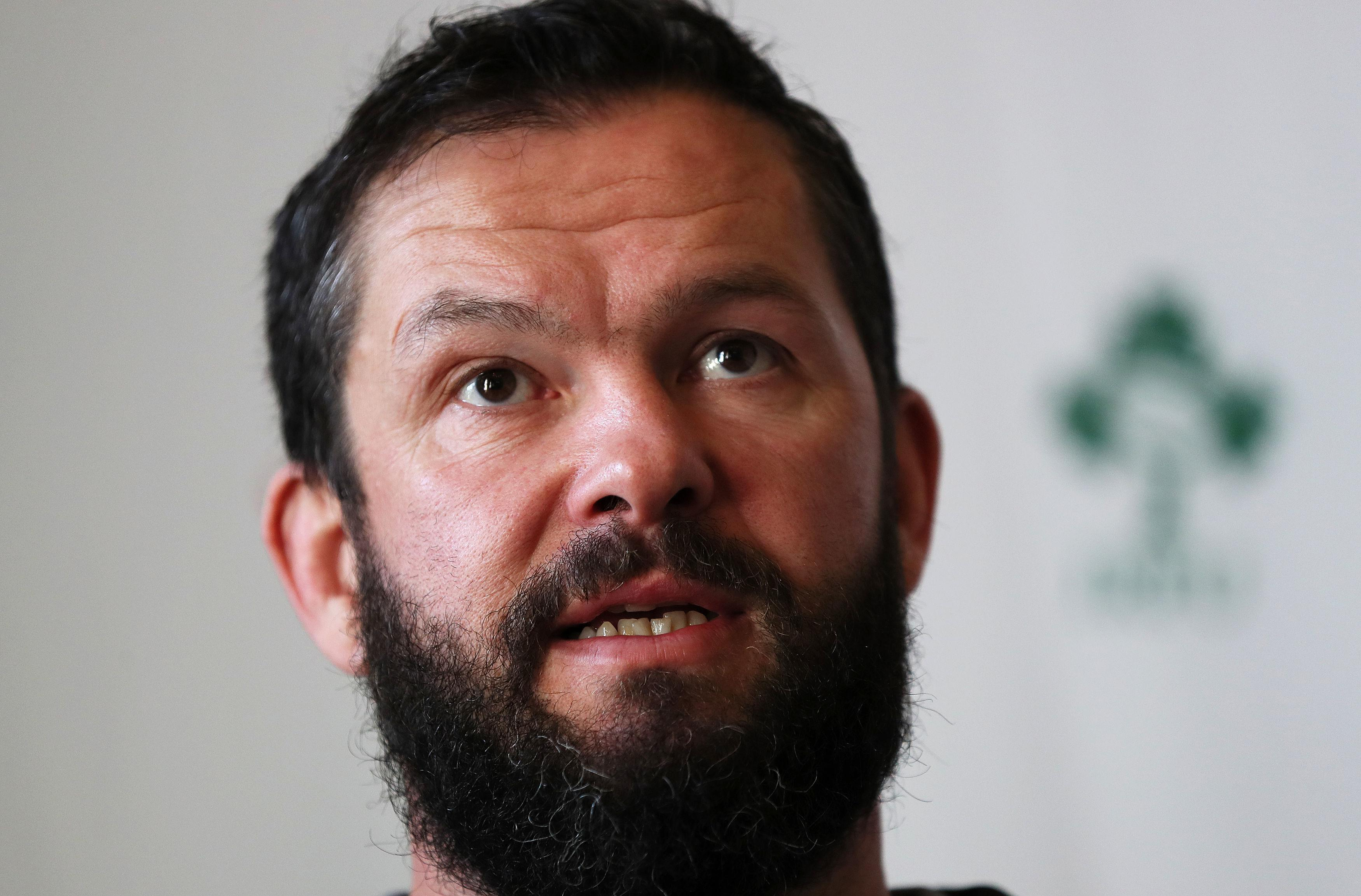 Andy Farrell is the man who will replace Joe Schmidt after the World Cup