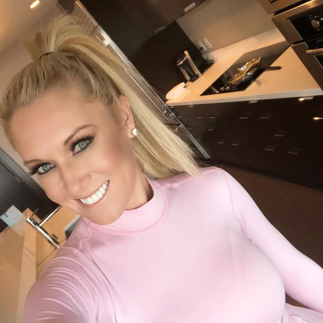 US viewers have been wowed by on-course reporter Natalie Gulbis