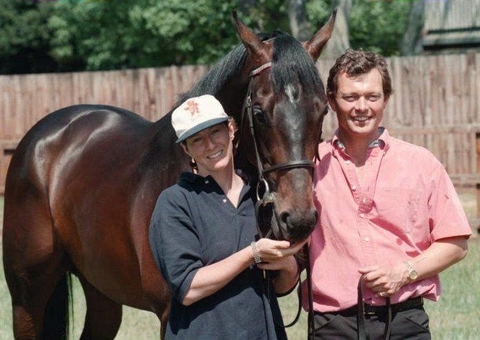 Lester Piggott's daughter Maureen and her husband William Haggas