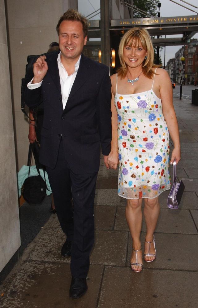 Wendy with her Minder actor husband Gary Webster