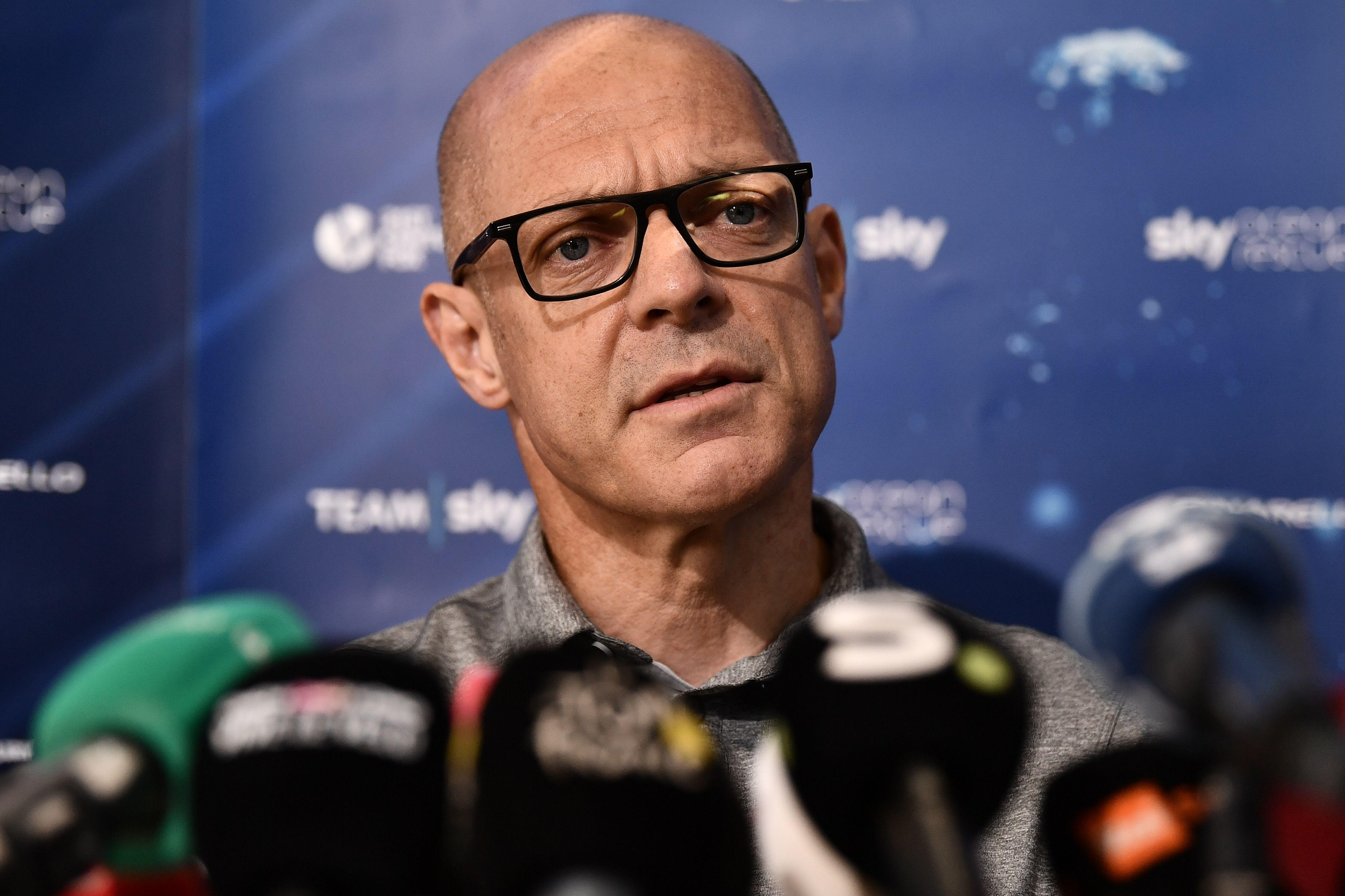 Sir Dave Brailsford will need to look for another title sponsor for his team