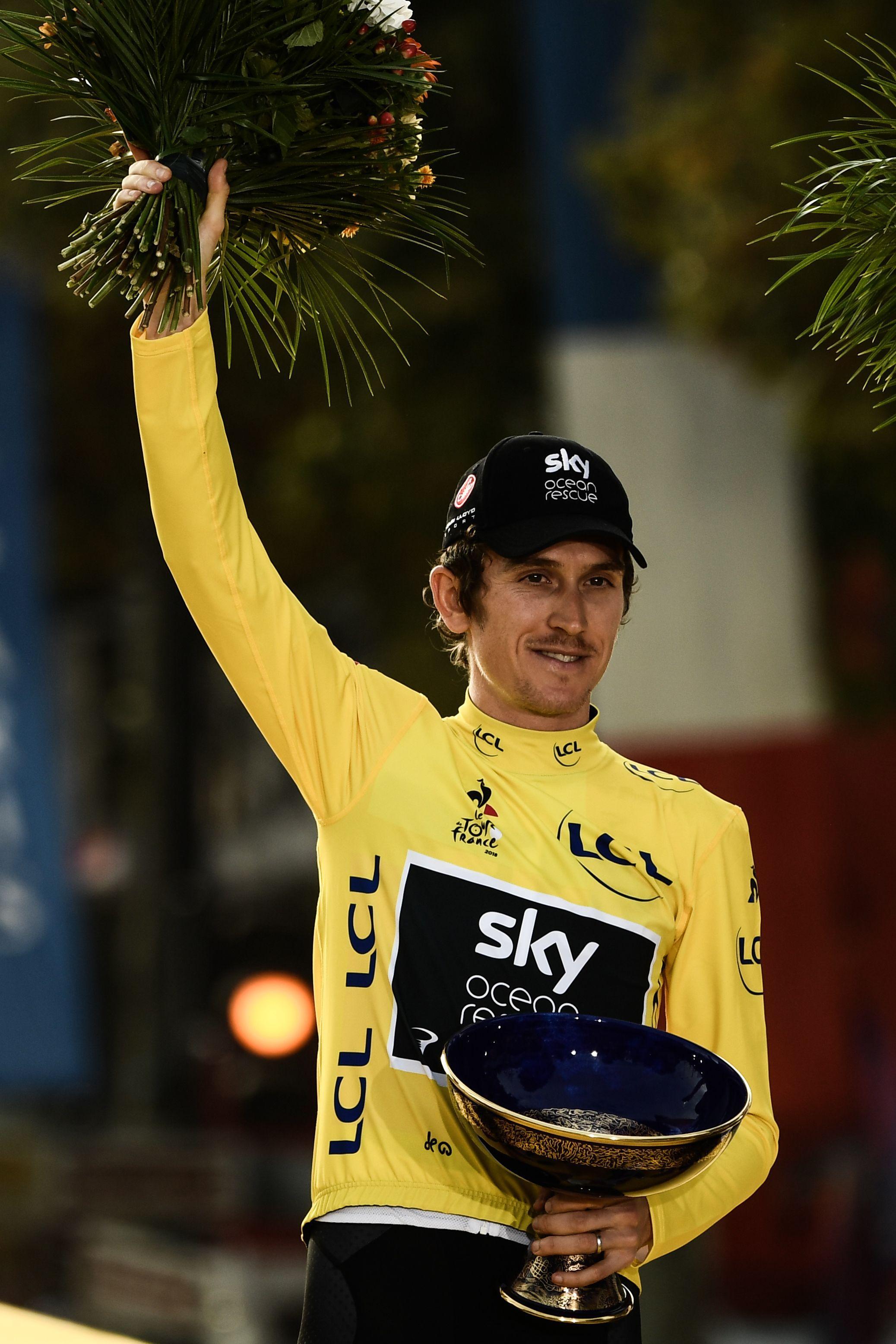 Thomas is back on the saddle following his Tour de France triumph