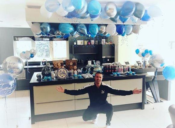 Paddy purchased the stylish seven-bedroom property near Wayne Rooney's family home