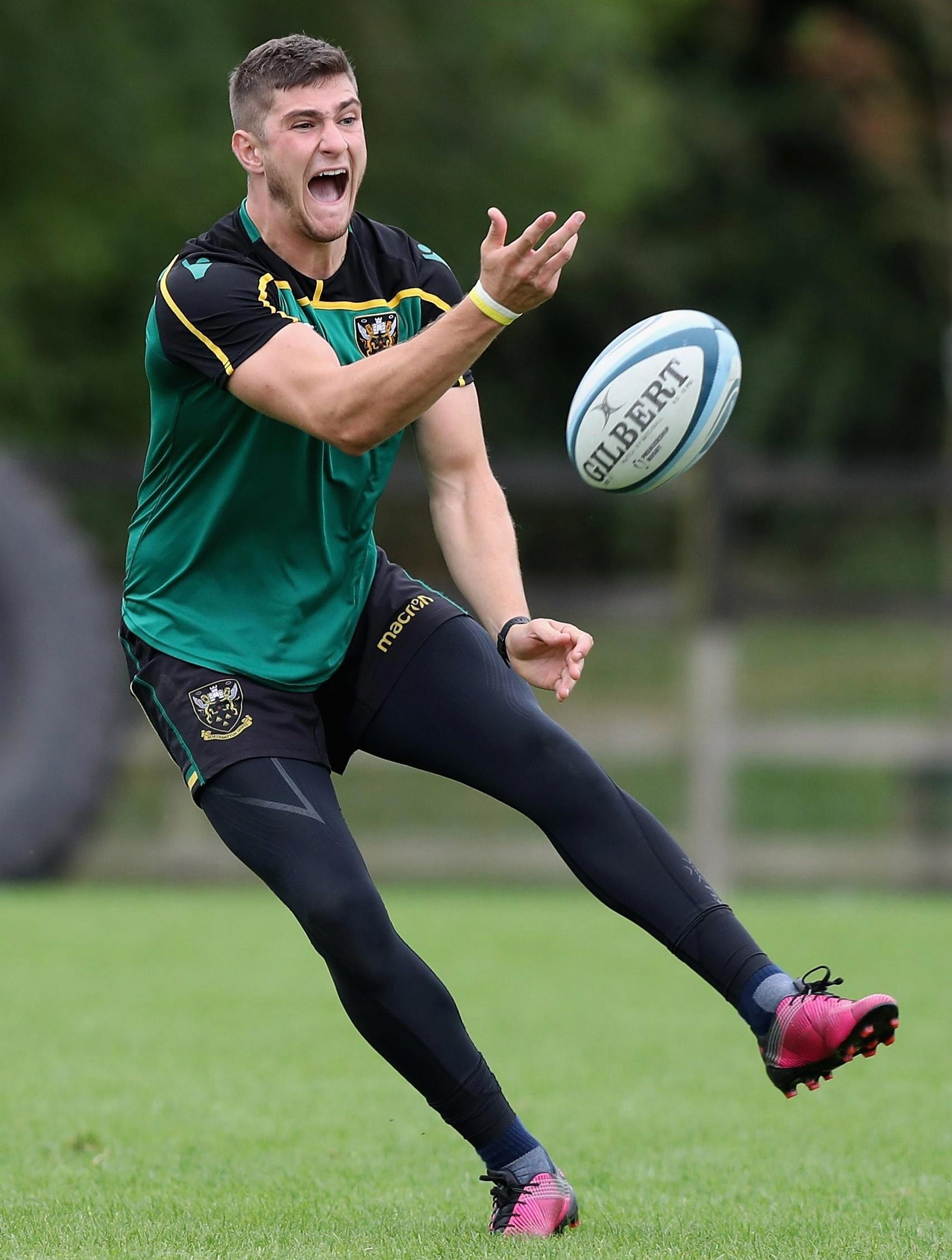 James Grayson has the perfect pedigree -following in the footsteps of fly-half dad Paul