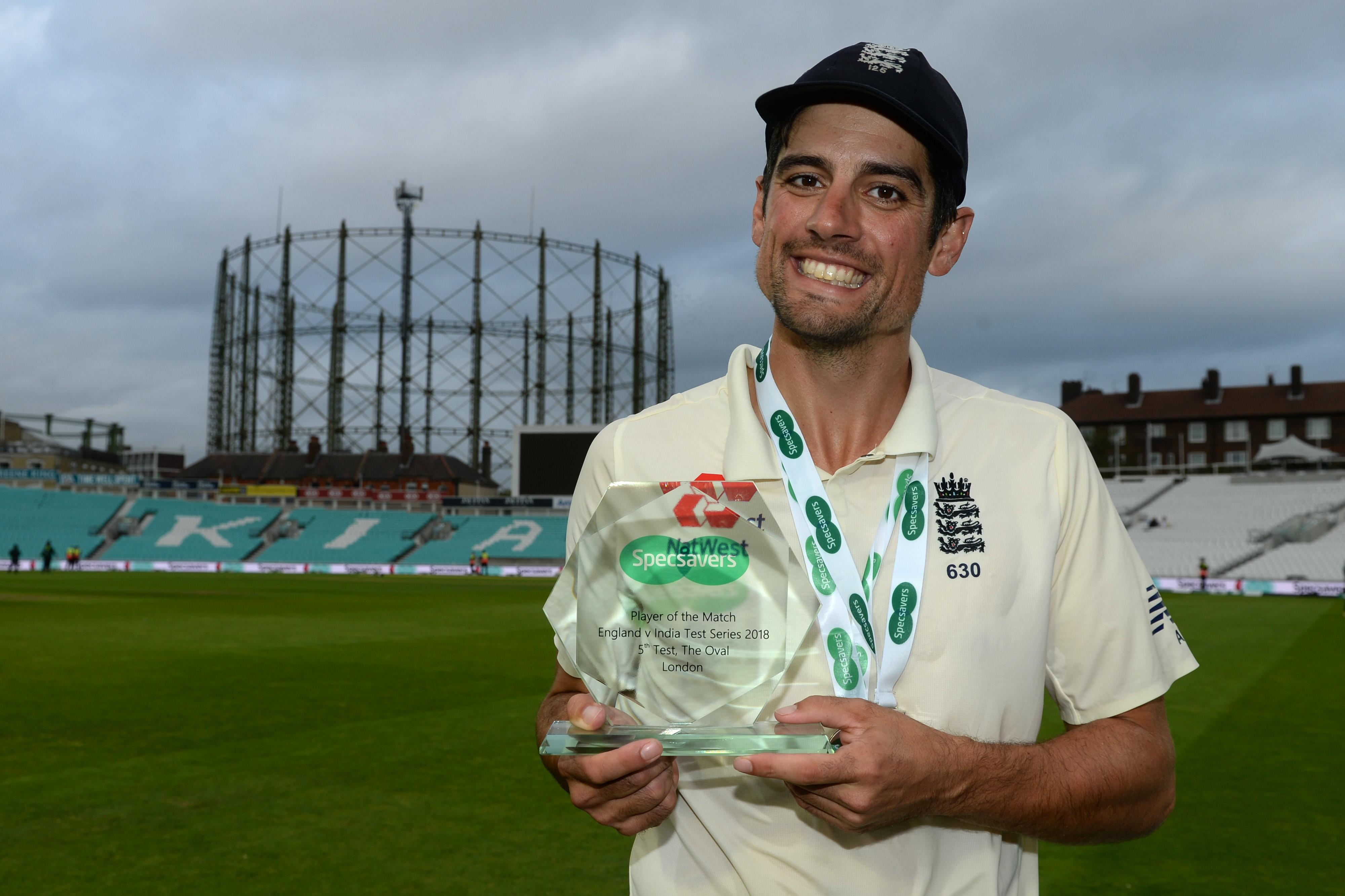 Alastair Cook is the 10th cricketer to be knighted and the first since Ian Botham in 2007