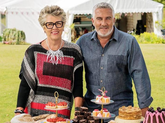 The Great British Bake Off Prue Leith and Paul Hollywood