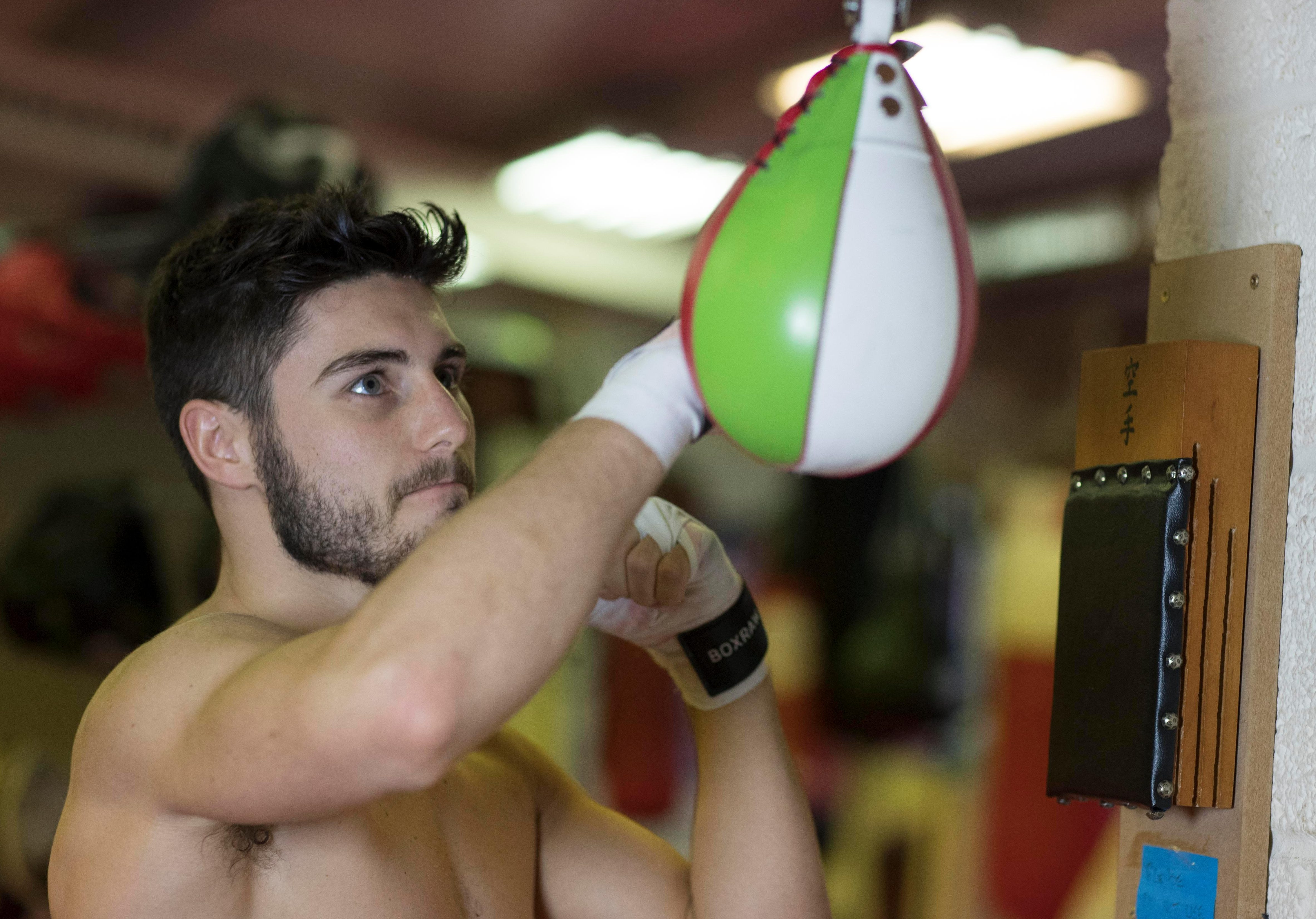 Josh Kelly is gearing up for his biggest yet as he bids to build on a perfect record