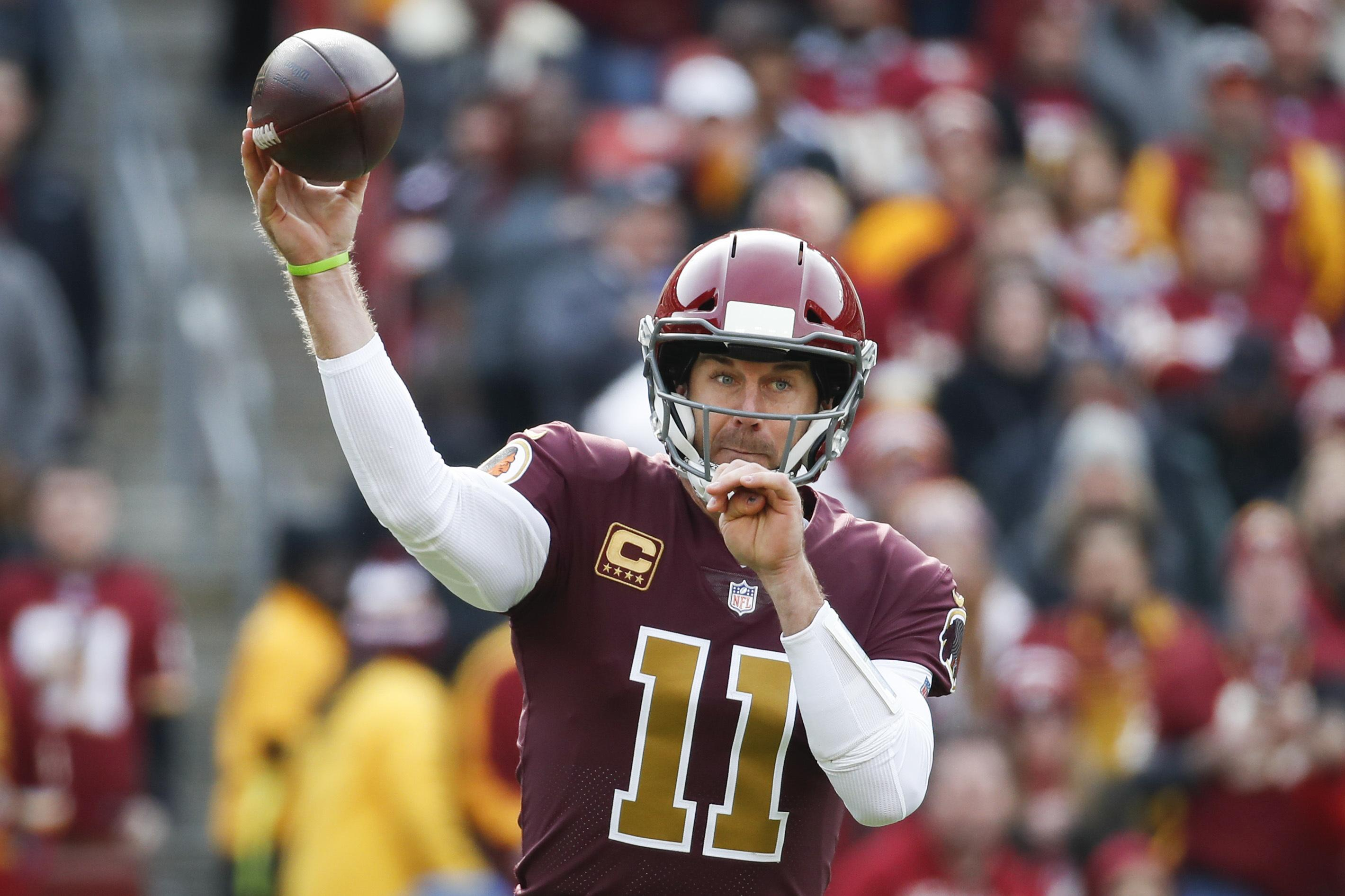 Alex Smith's absence will be a huge loss following his sublime spell of form for the Redskins