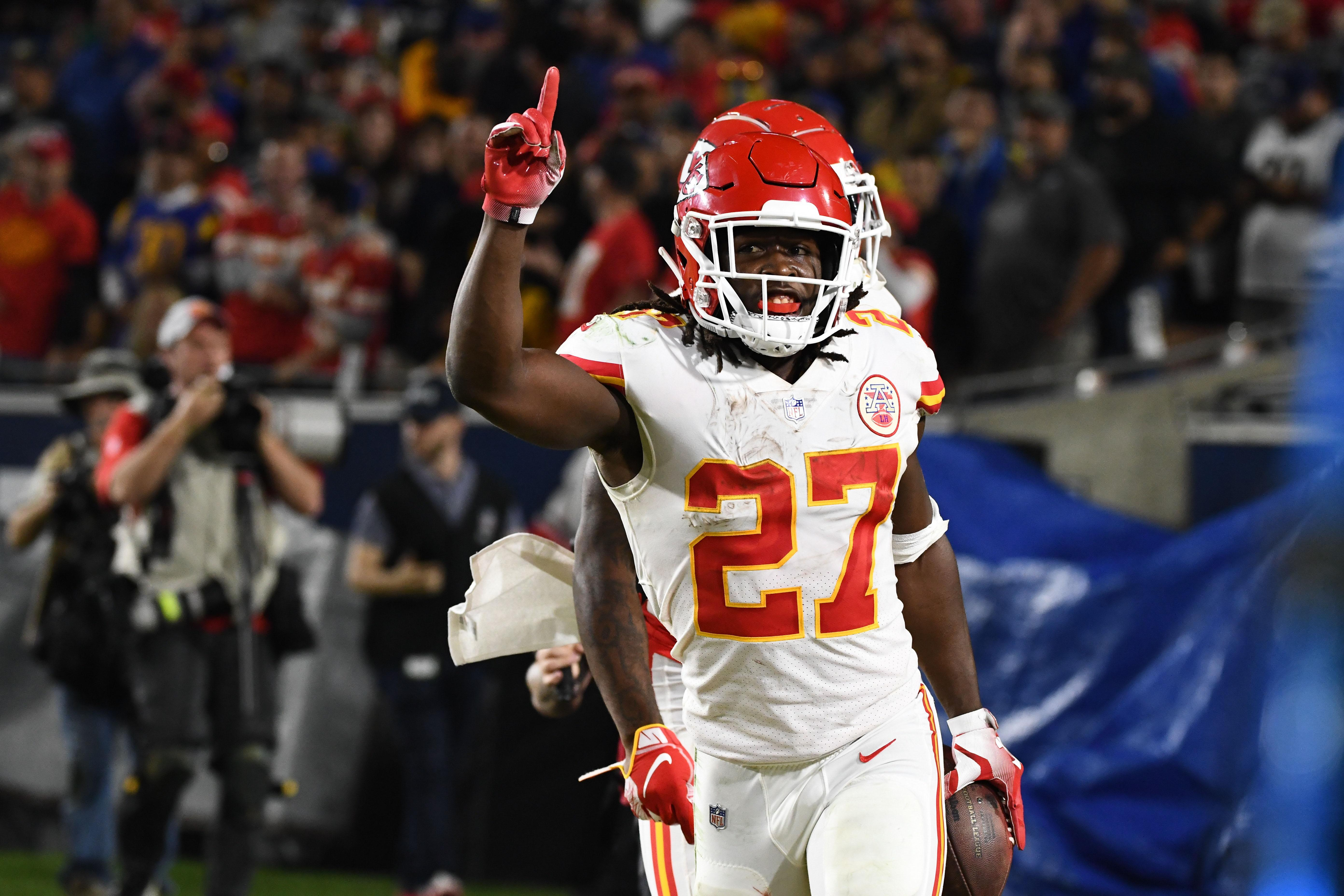 Kareem Hunt is reigning rushing champion in the NFL