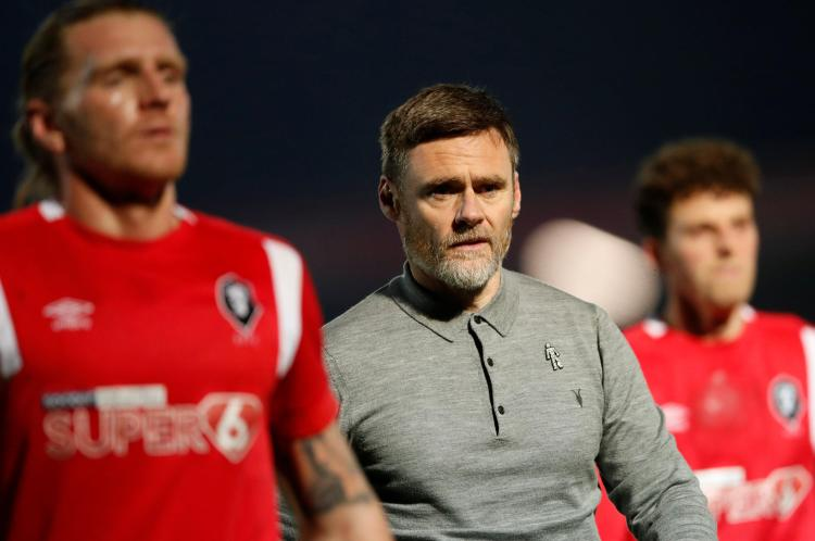 Graham Alexander is doing a terrific job as they aim for EFL promotion