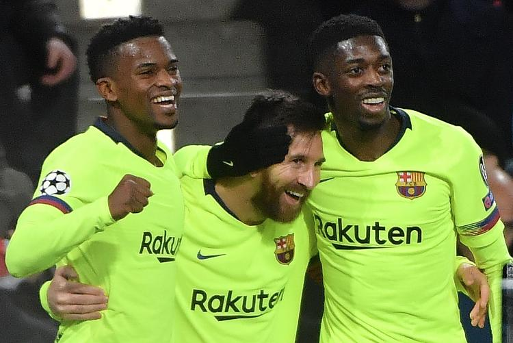 Semedo, left, says Dembele, right, is the future of Barcelona