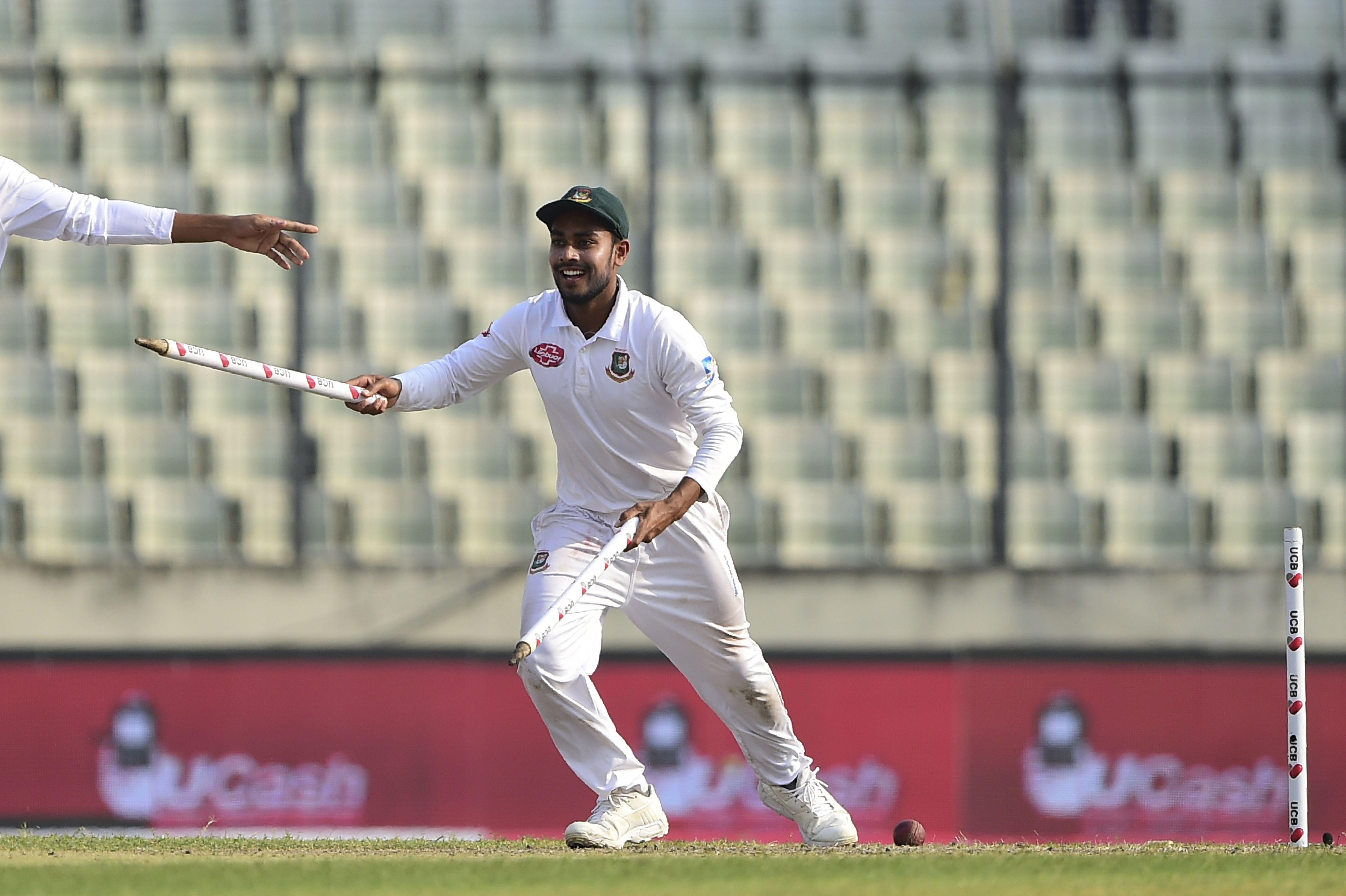 Bangladesh romped to an emphatic victory in the Test series