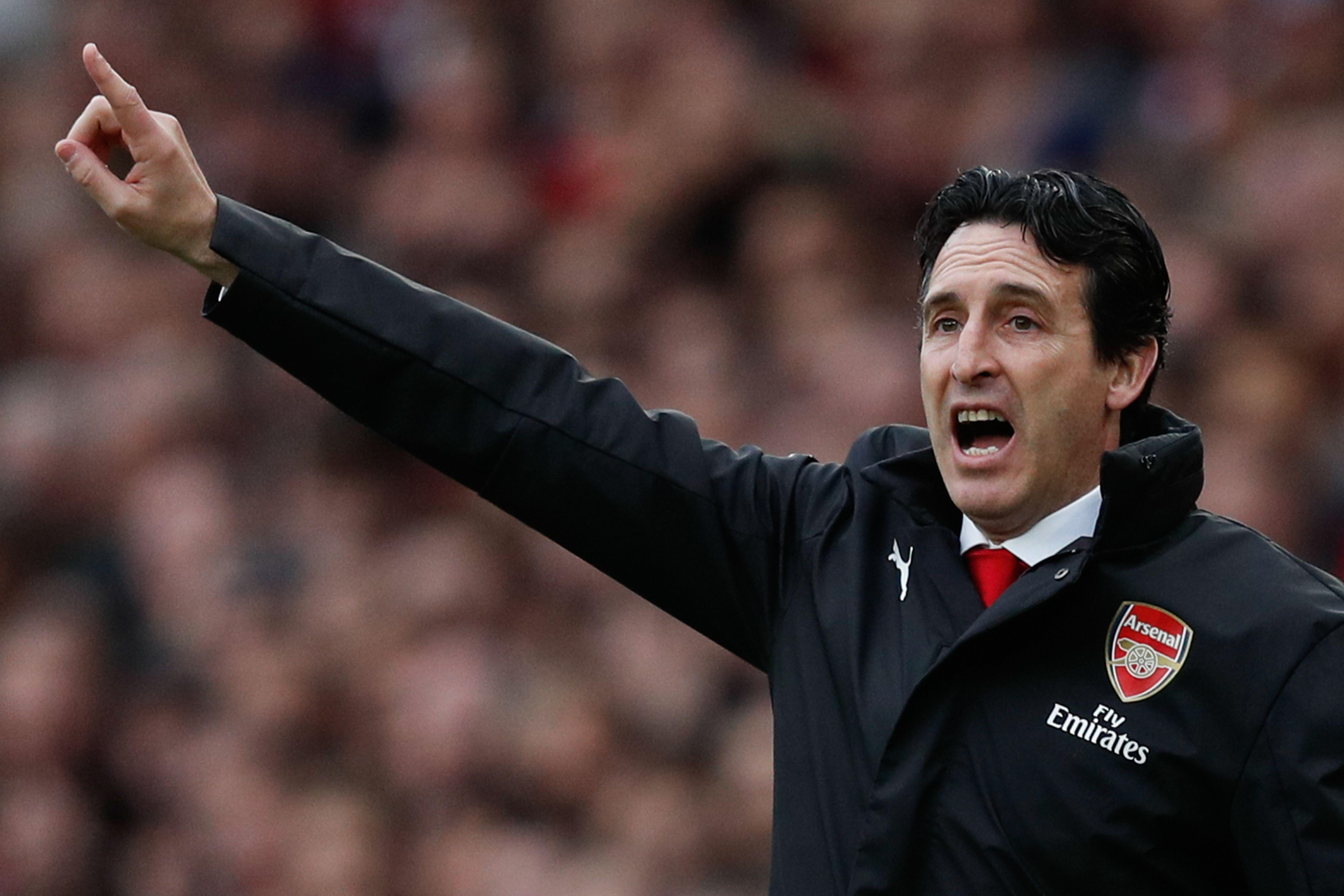 Emery guided Arsenal to a 4-2 win over rivals Tottenham